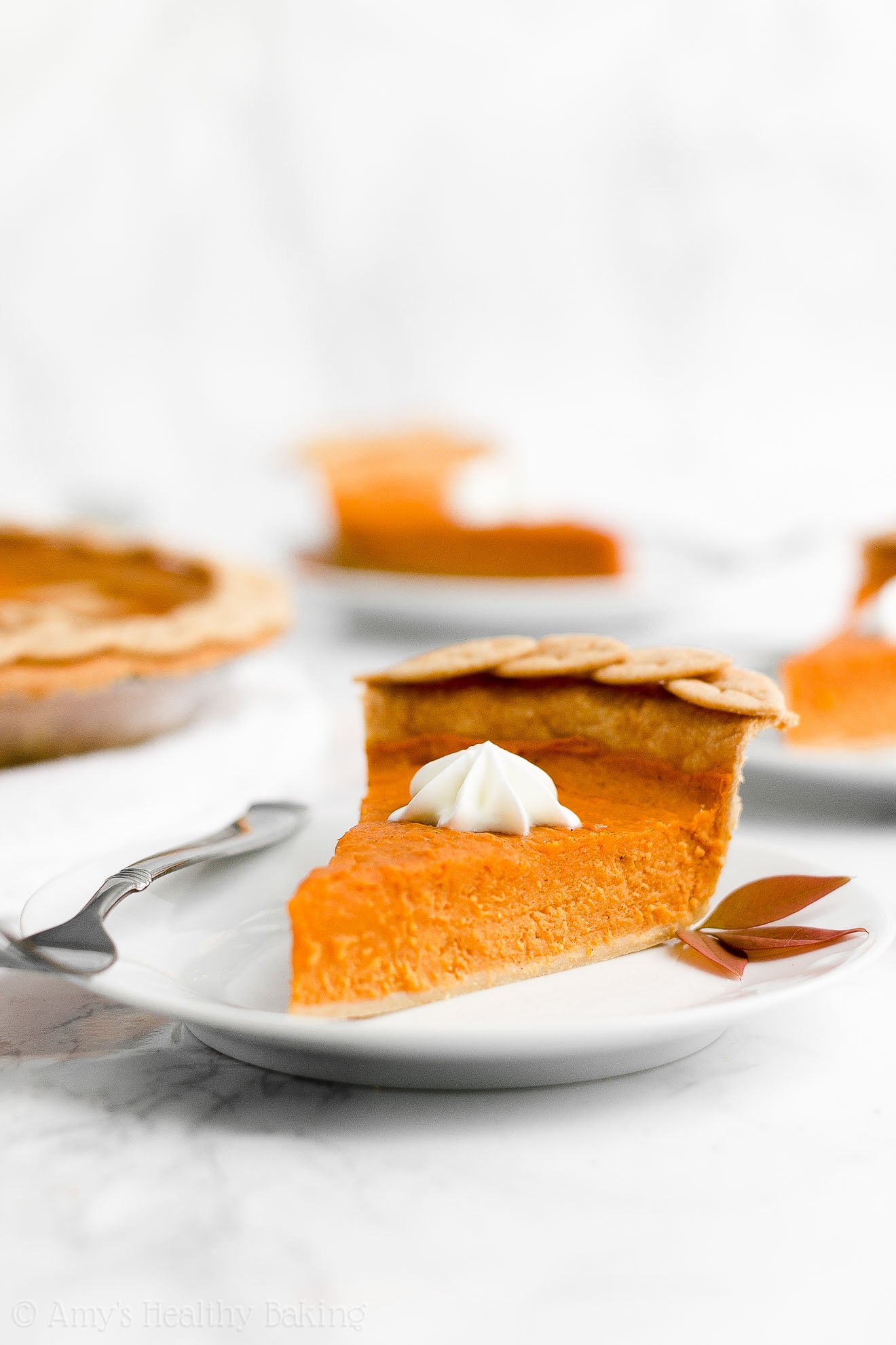ULTIMATE Best Ever Healthy Sweet Potato Pie with Flaky Whole Wheat Crust