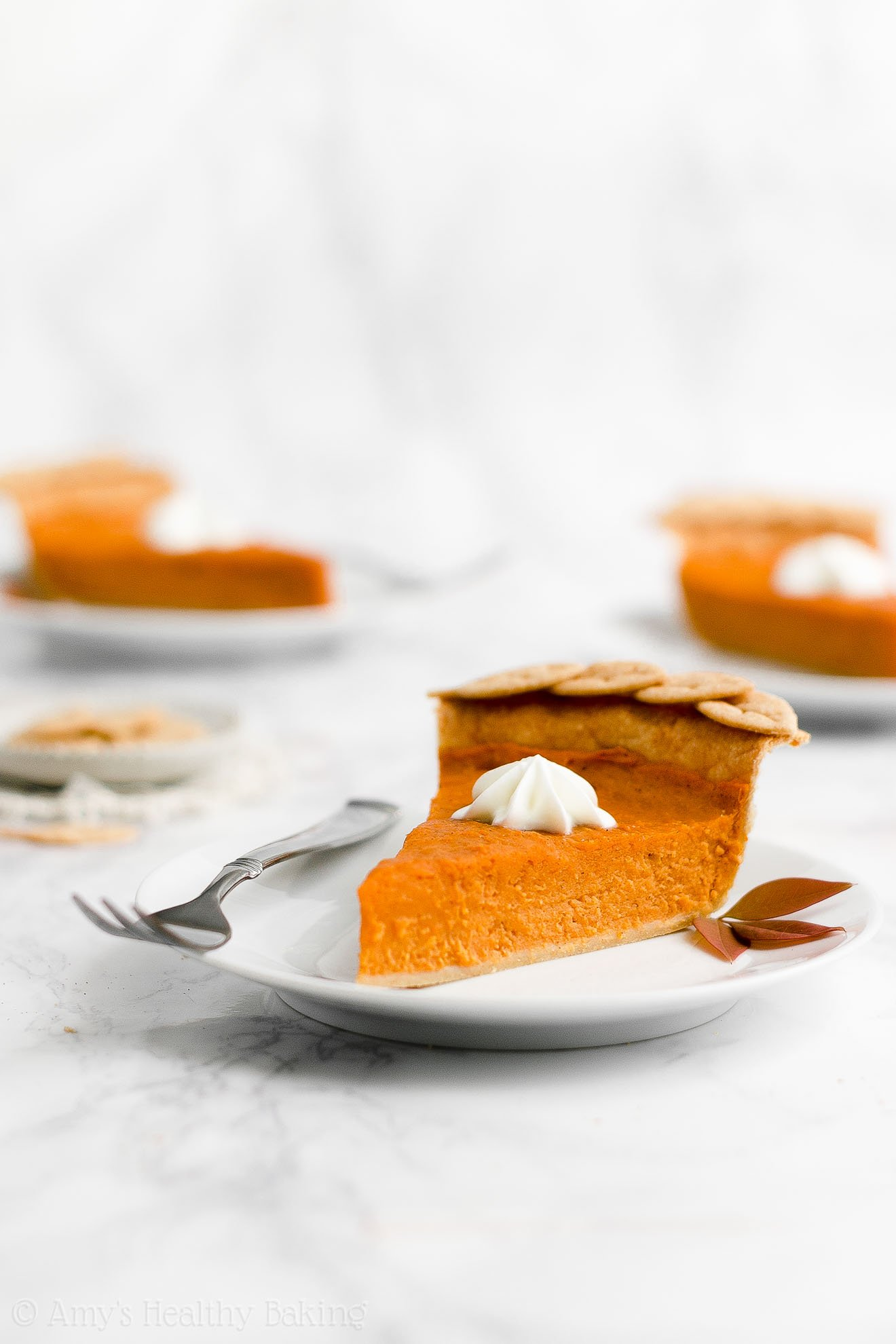 ULTIMATE Best Ever Healthy Homemade Low Fat Low Sugar Sweet Potato Pie