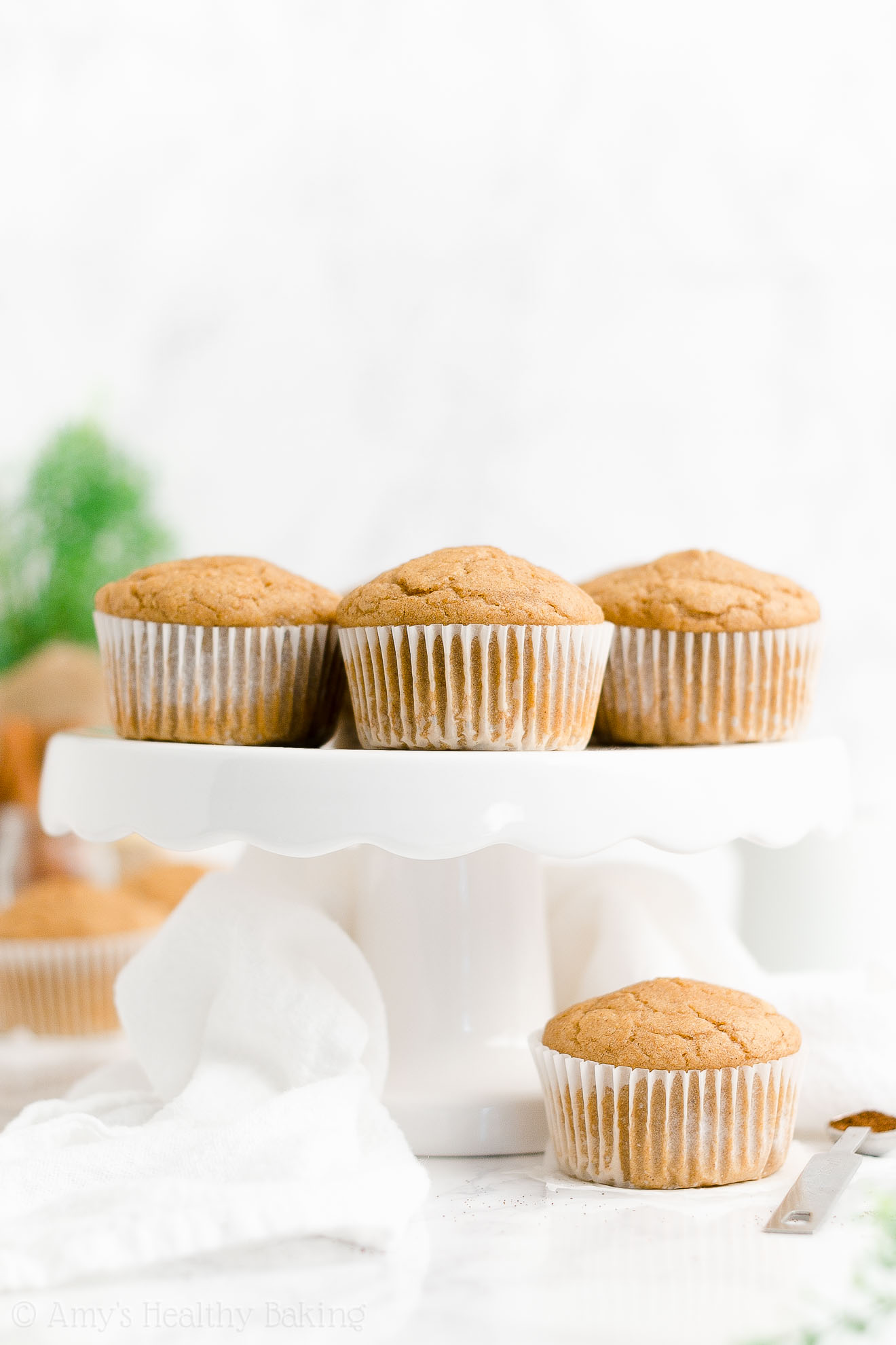 ULTIMATE Best Ever Healthy Low Calorie Sugar Free Eggnog Muffins