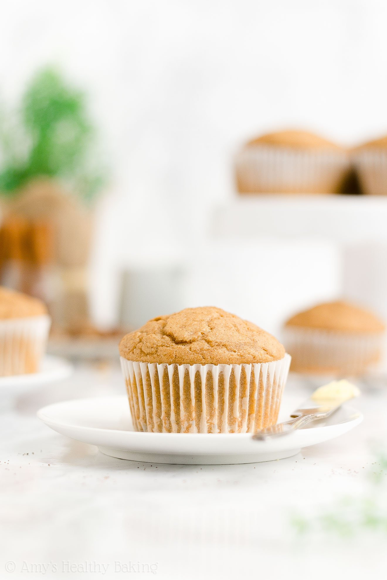 ULTIMATE Best Ever Easy Healthy Whole Wheat Spice Eggnog Muffins