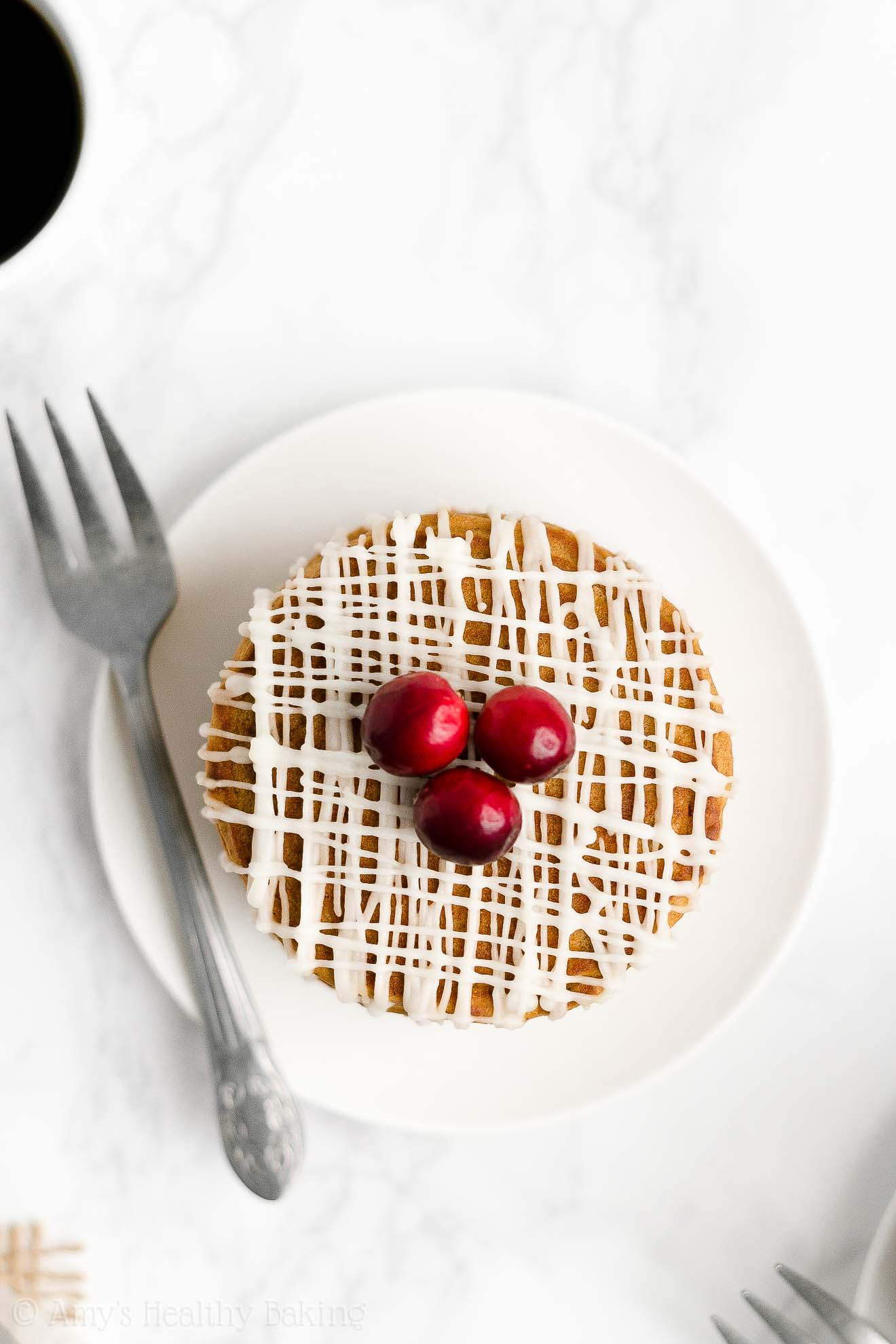 BEST EVER Easy Healthy Clean Eating Greek Yogurt Fluffy Gingerbread Pancakes