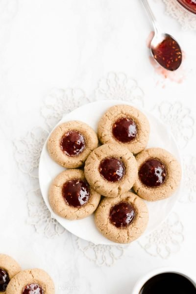 Santa's Favorite Thumbprint Cookies