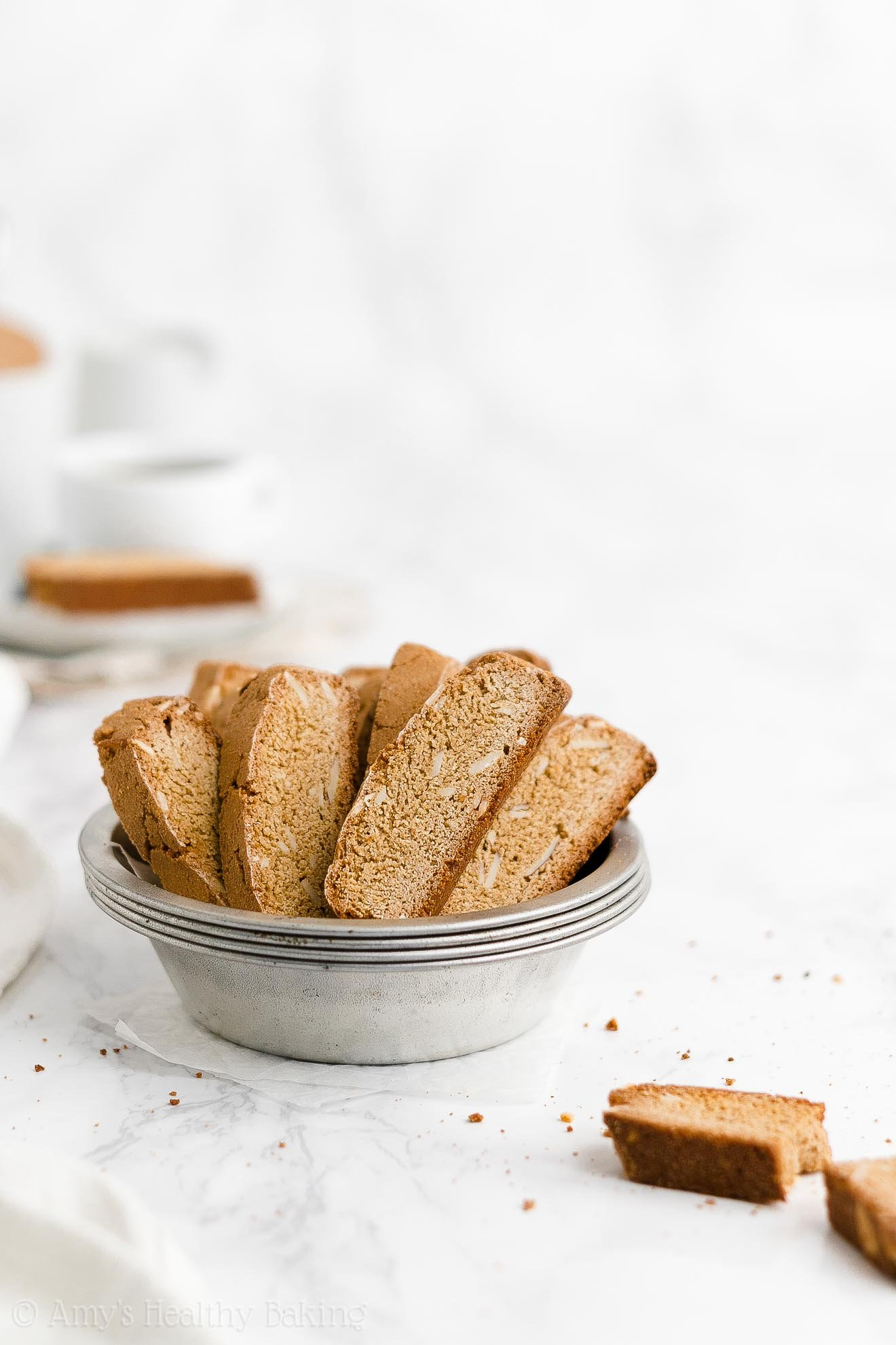 ULTIMATE Best Ever Easy Healthy Weight Watchers Classic Almond Biscotti