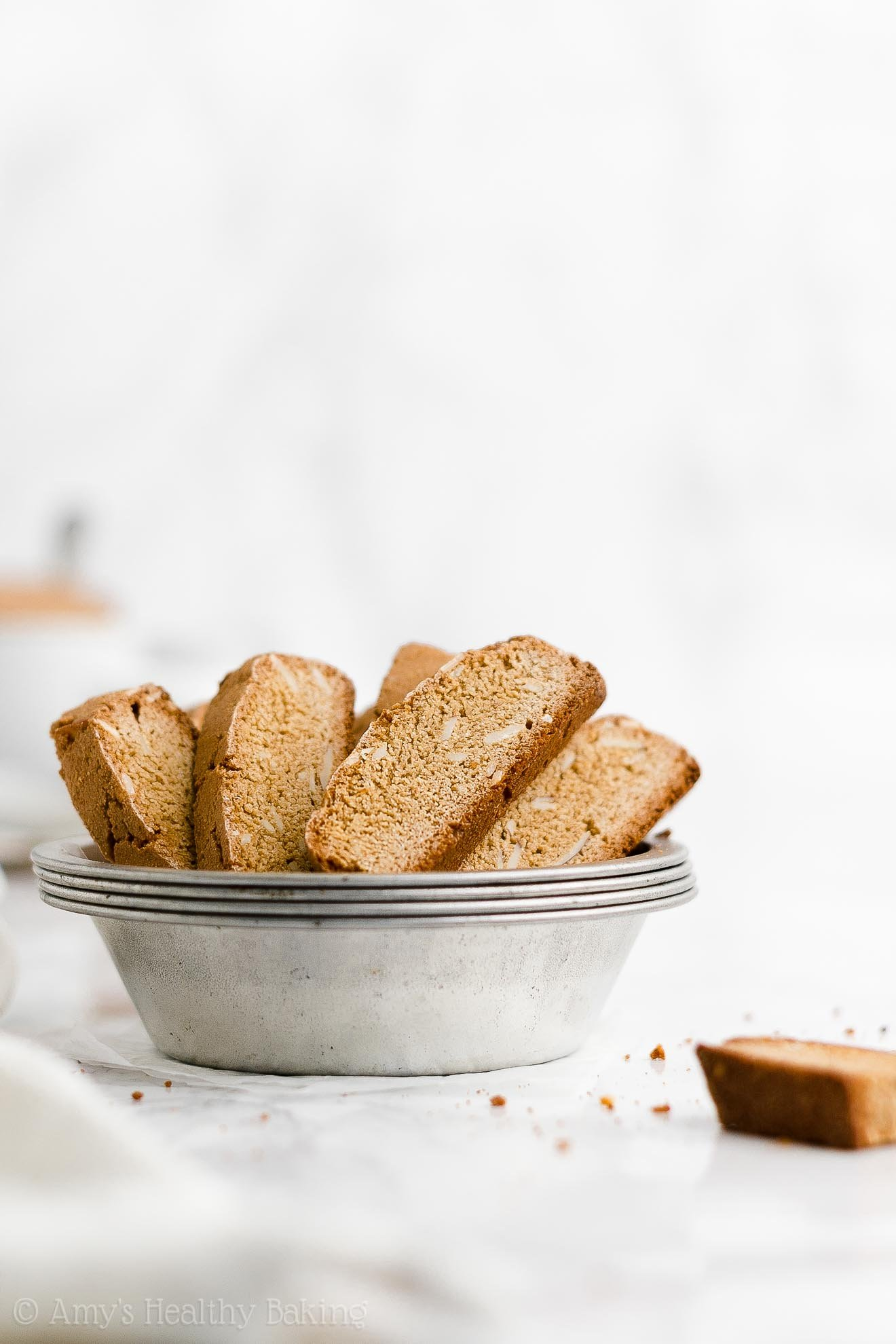 ULTIMATE Best Ever Easy Healthy Low Calorie Homemade Classic Biscotti
