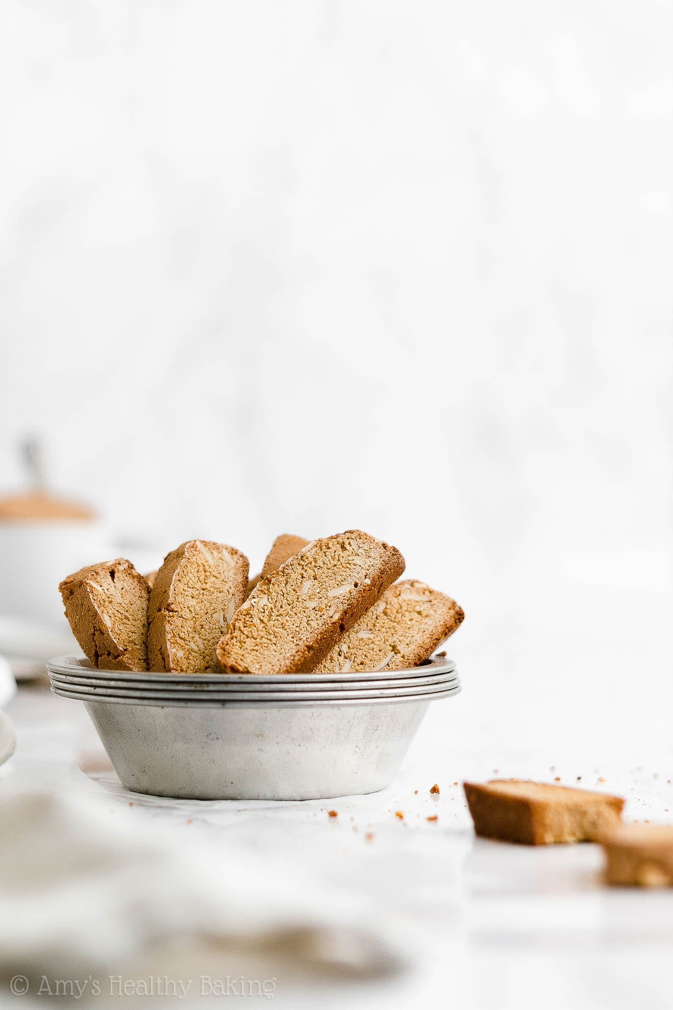 ULTIMATE Best Ever Healthy Homemade Crunchy Classic Italian Almond Biscotti