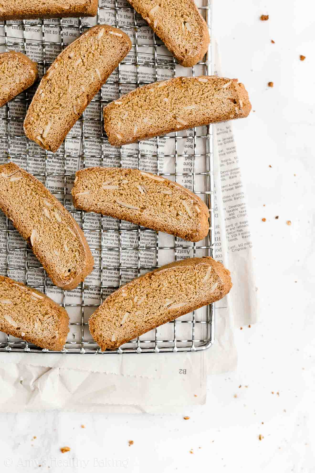 ULTIMATE Best Ever Healthy Gluten Free Low Fat Classic Almond Biscotti