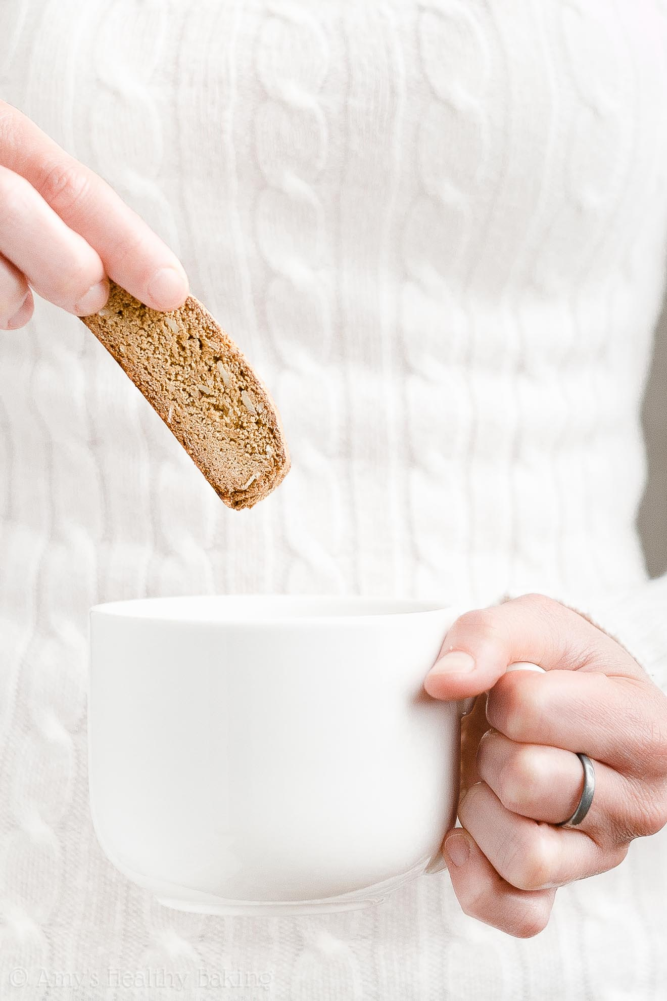 ULTIMATE Best Ever Easy Healthy Weight Watchers Biscotti (No Butter or Oil)