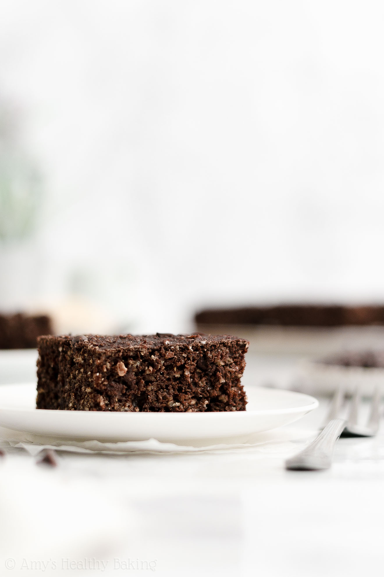 ULTIMATE Easy Healthy Low Calorie Gluten Free Moist Chocolate Breakfast Cake