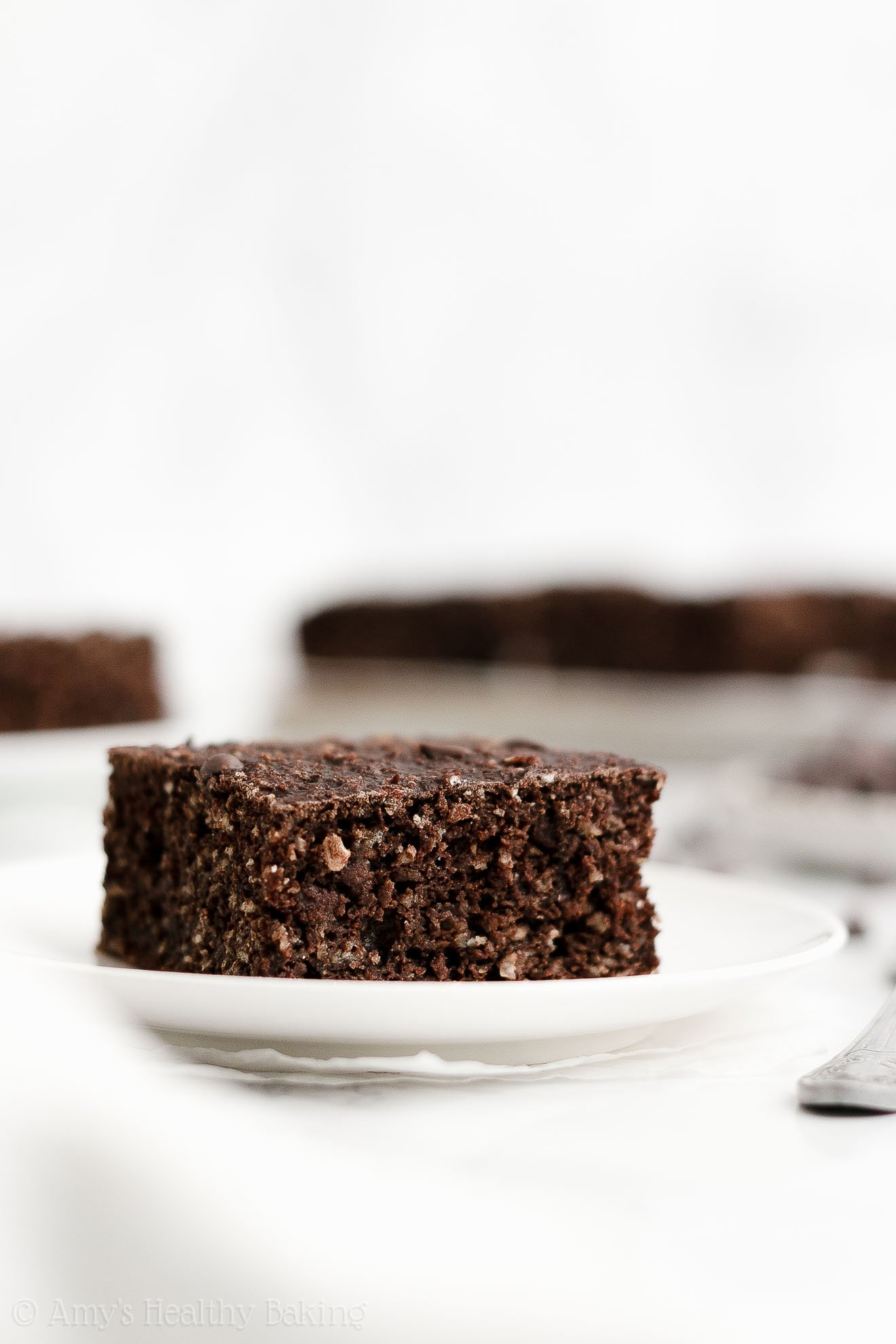 ULTIMATE Healthy Homemade Clean Eating Moist Chocolate Oatmeal Breakfast Cake
