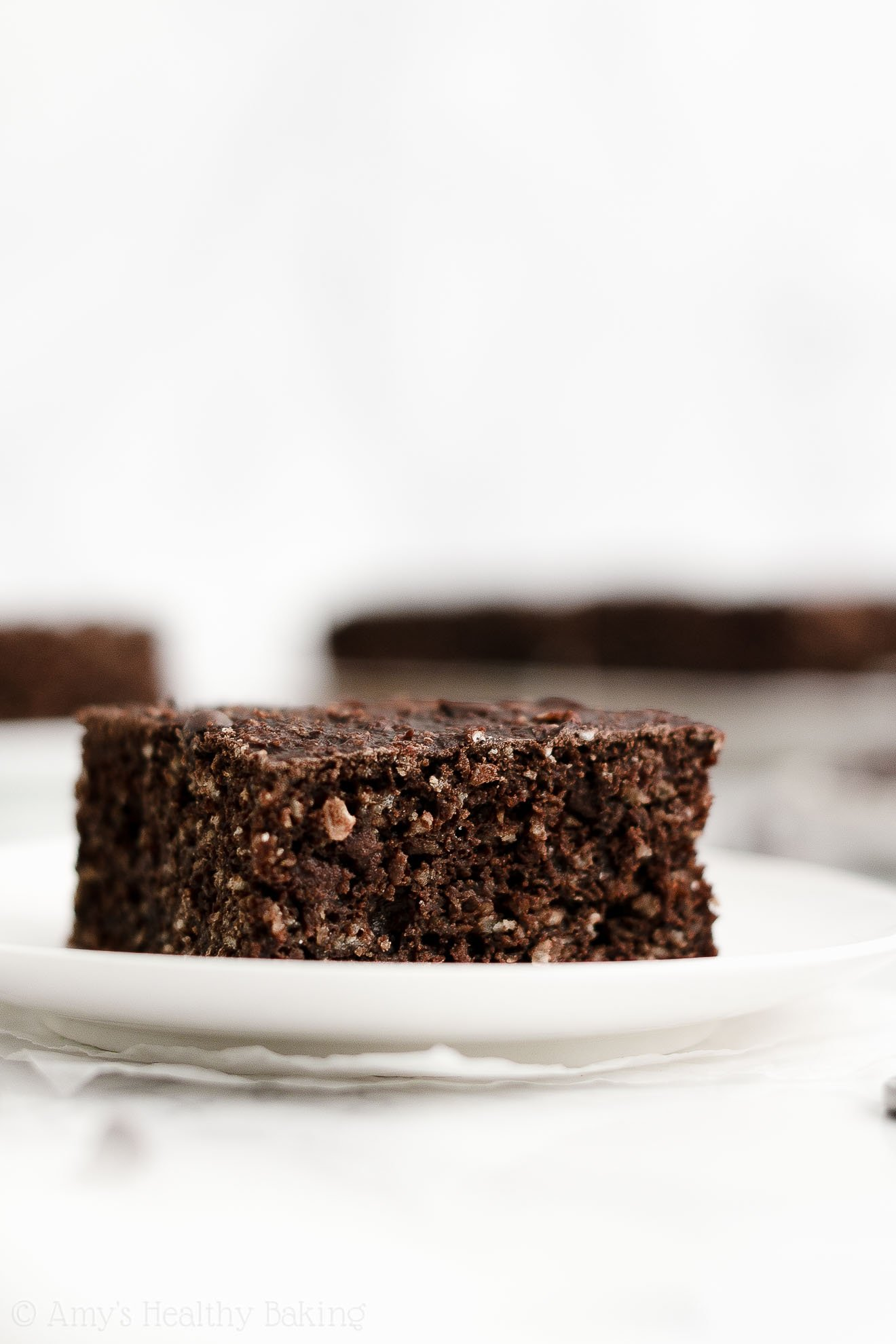ULTIMATE Best Ever Easy Healthy Clean Eating Double Chocolate Snack Cake