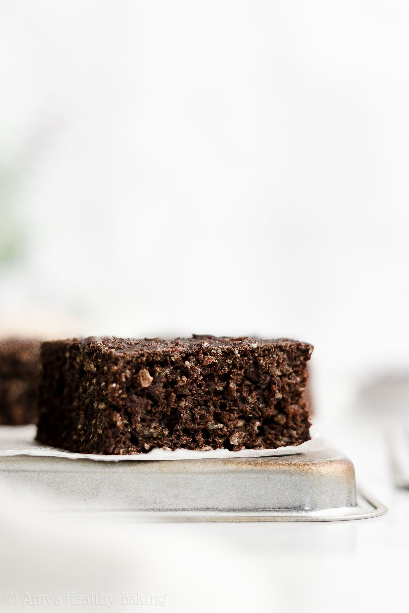 ULTIMATE Easy Healthy Gluten Free Greek Yogurt Moist Chocolate Snack Cake