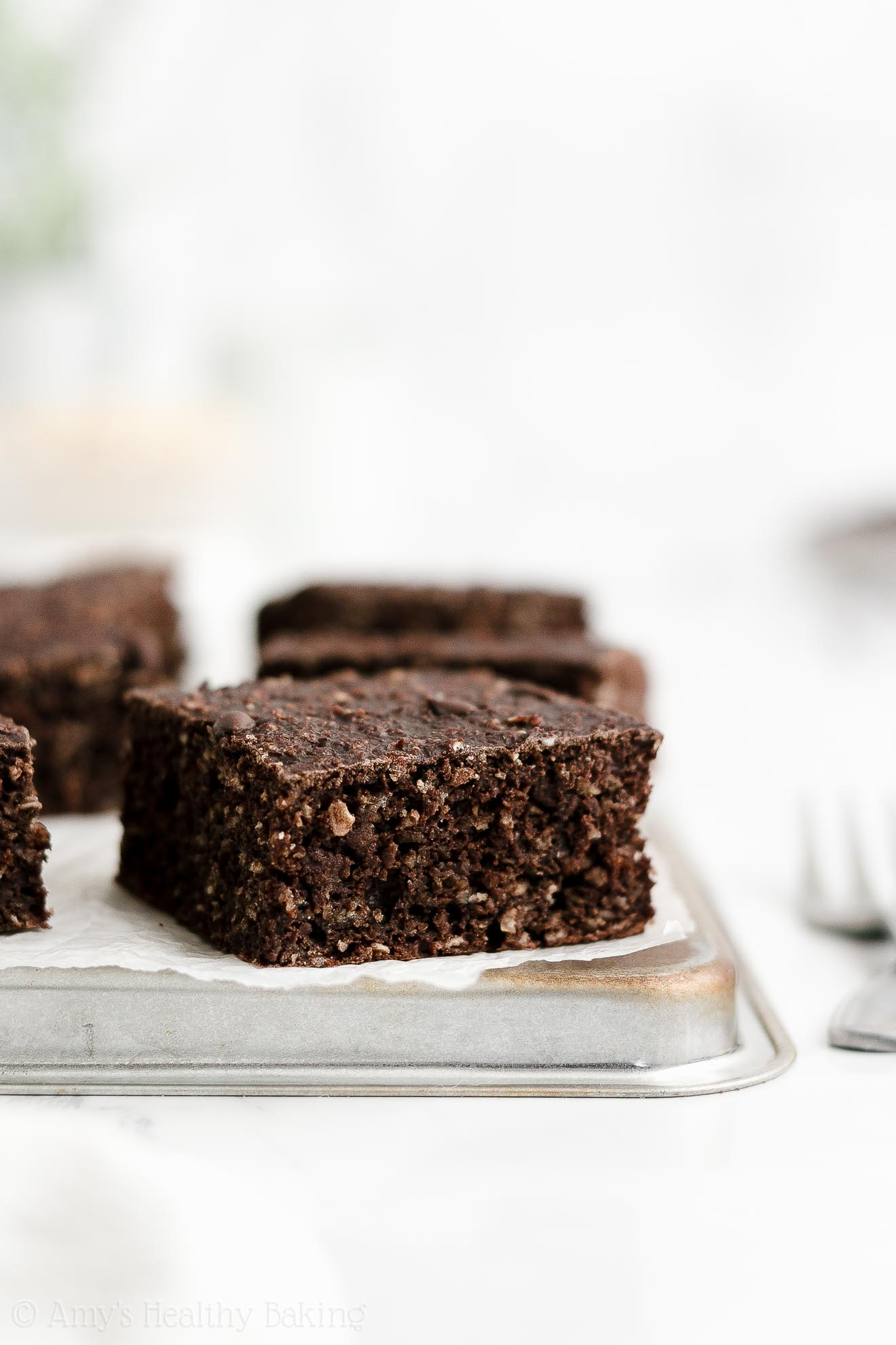 ULTIMATE Healthy Gluten Free Low Fat Greek Yogurt Chocolate Oatmeal Snack Cake