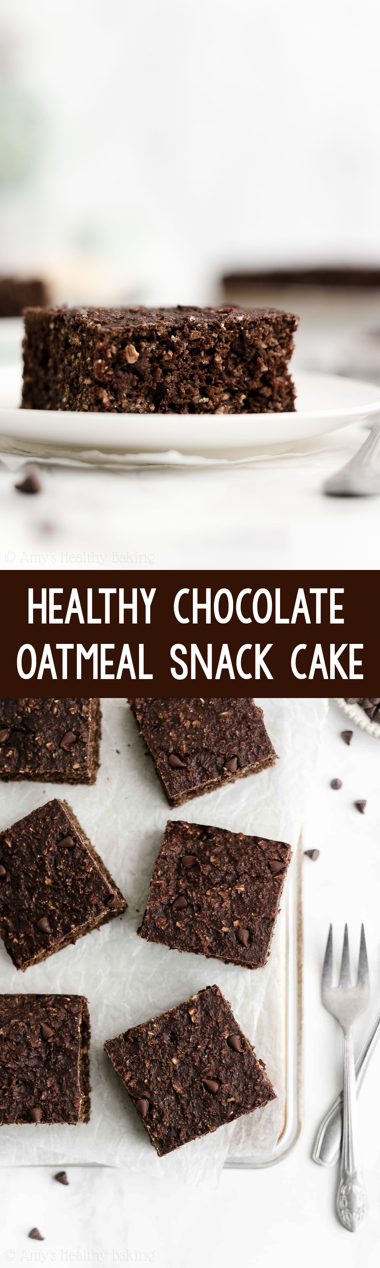 ULTIMATE Healthy Greek Yogurt Moist Double Chocolate Breakfast & Snack Cake