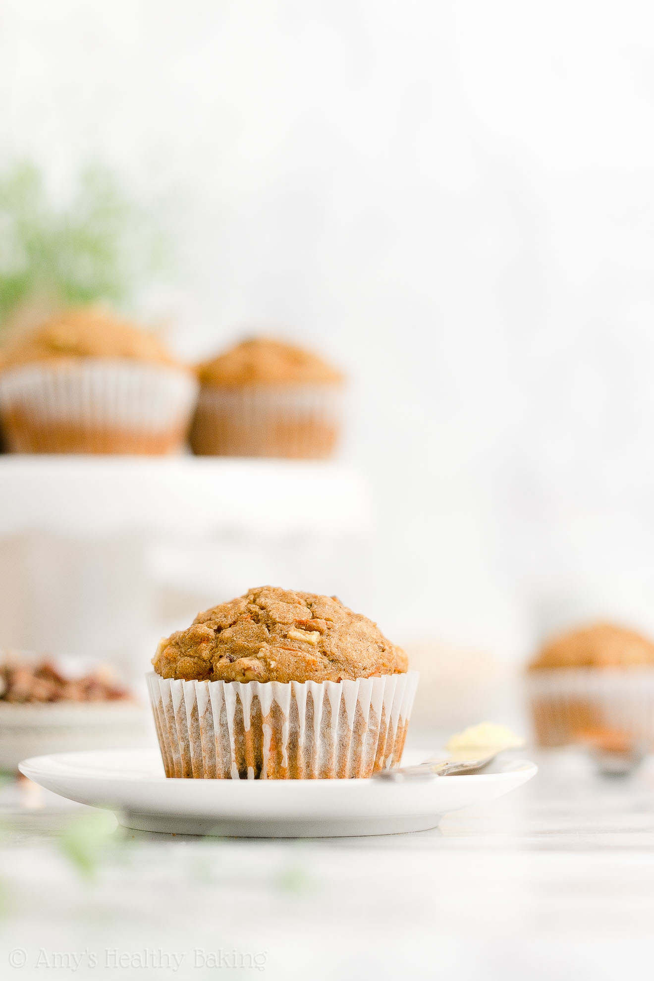Best Easy Healthy Low Calorie No Sugar Moist Morning Glory Oatmeal Muffins