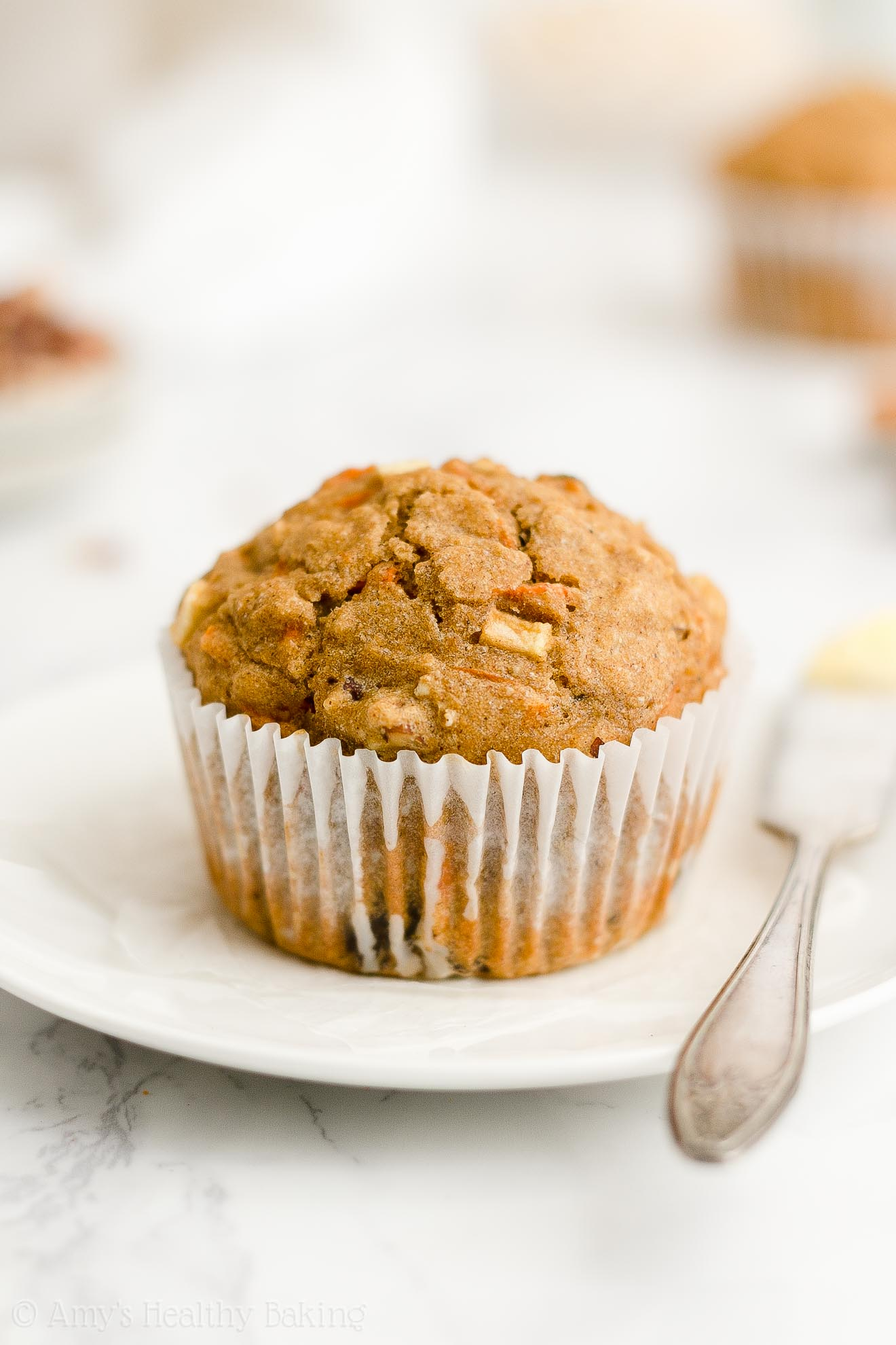 Best Easy Healthy Gluten Free Low Calorie Spiced Morning Glory Oatmeal Muffins