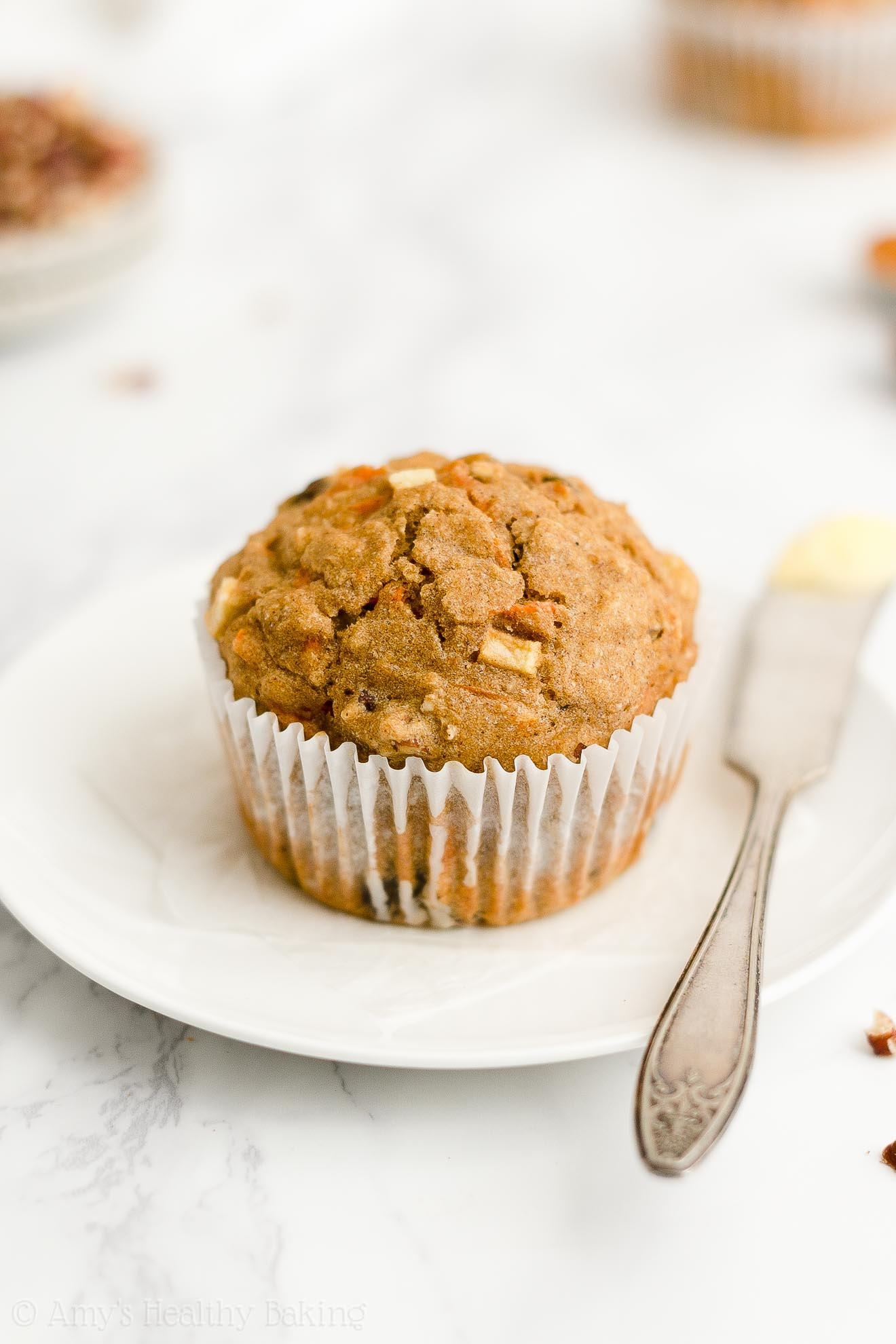 Best Easy Healthy Low Fat No Sugar Greek Yogurt Morning Glory Oatmeal Muffins