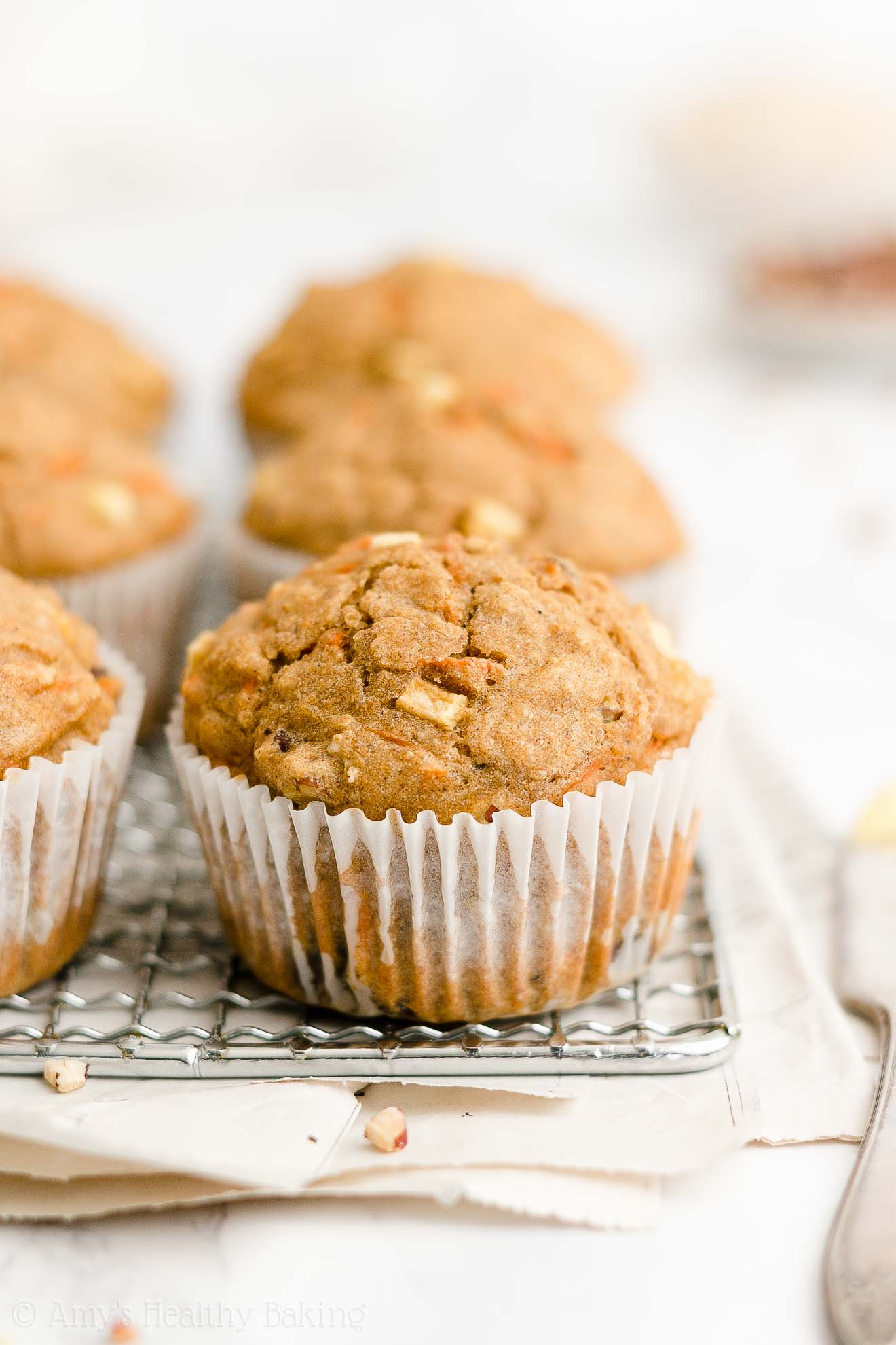 Best Easy Healthy Low Calorie Sugar Free Yogurt Morning Glory Oatmeal Muffins