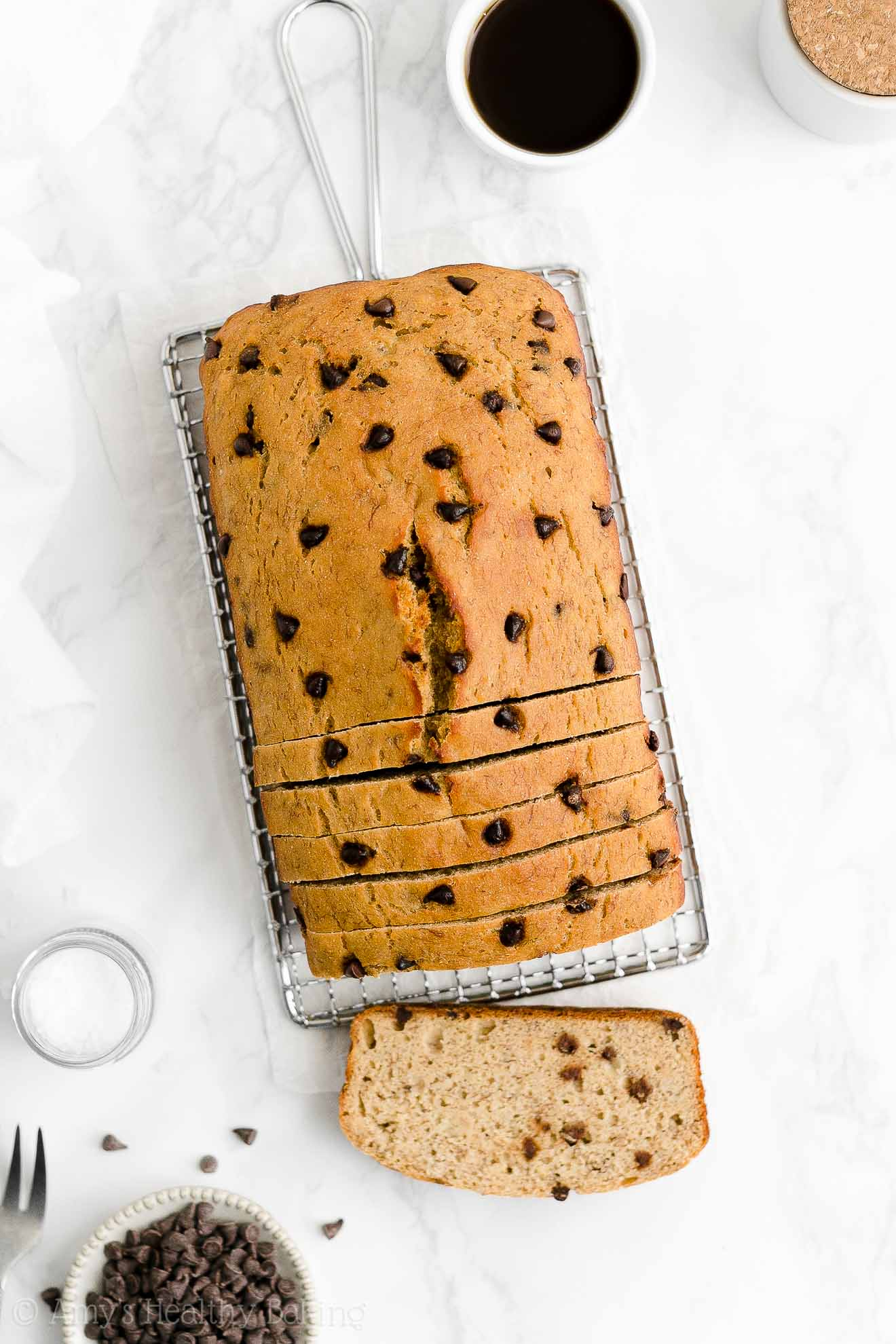 Best Easy Healthy Weight Watchers One-Bowl Chocolate Chip Banana Bread