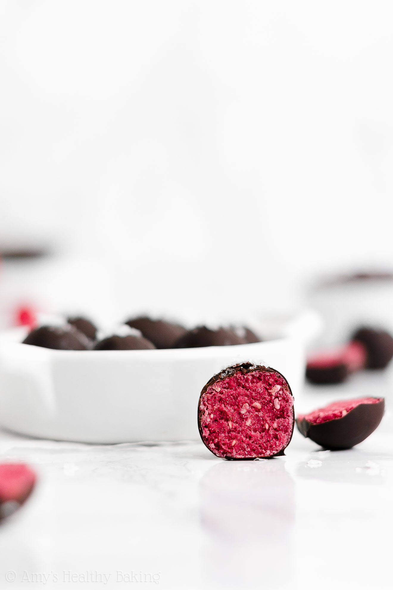 ULTIMATE Best Easy Healthy Clean Eating Weight Watchers Raspberry Truffles