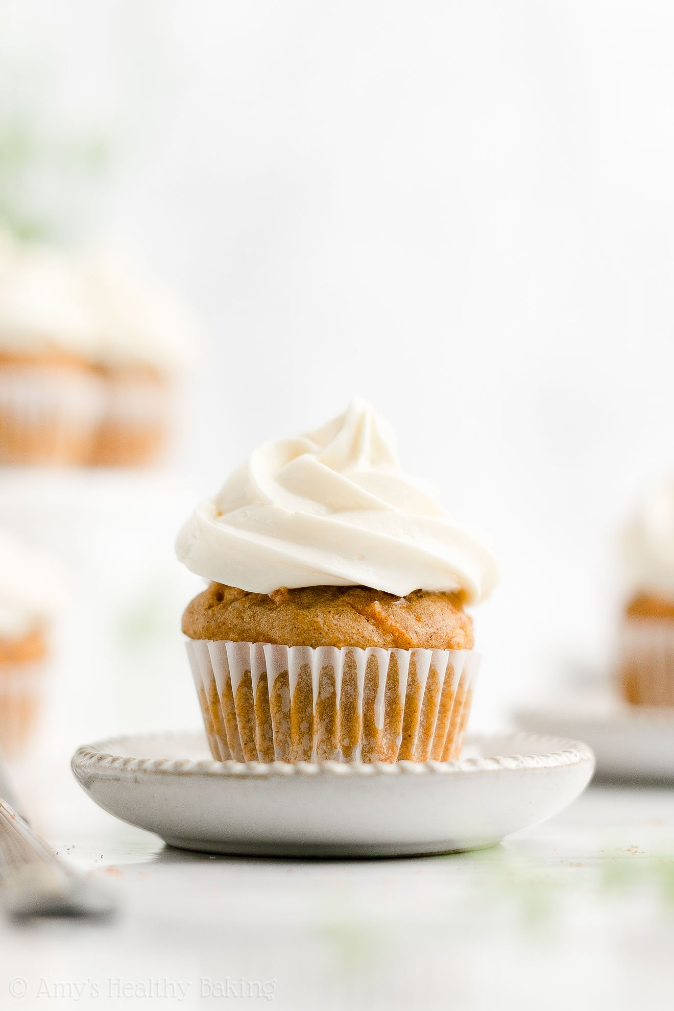 ULTIMATE Easy Healthy Whole Wheat Sugar Free Low Fat Mini Carrot Cake Cupcakes