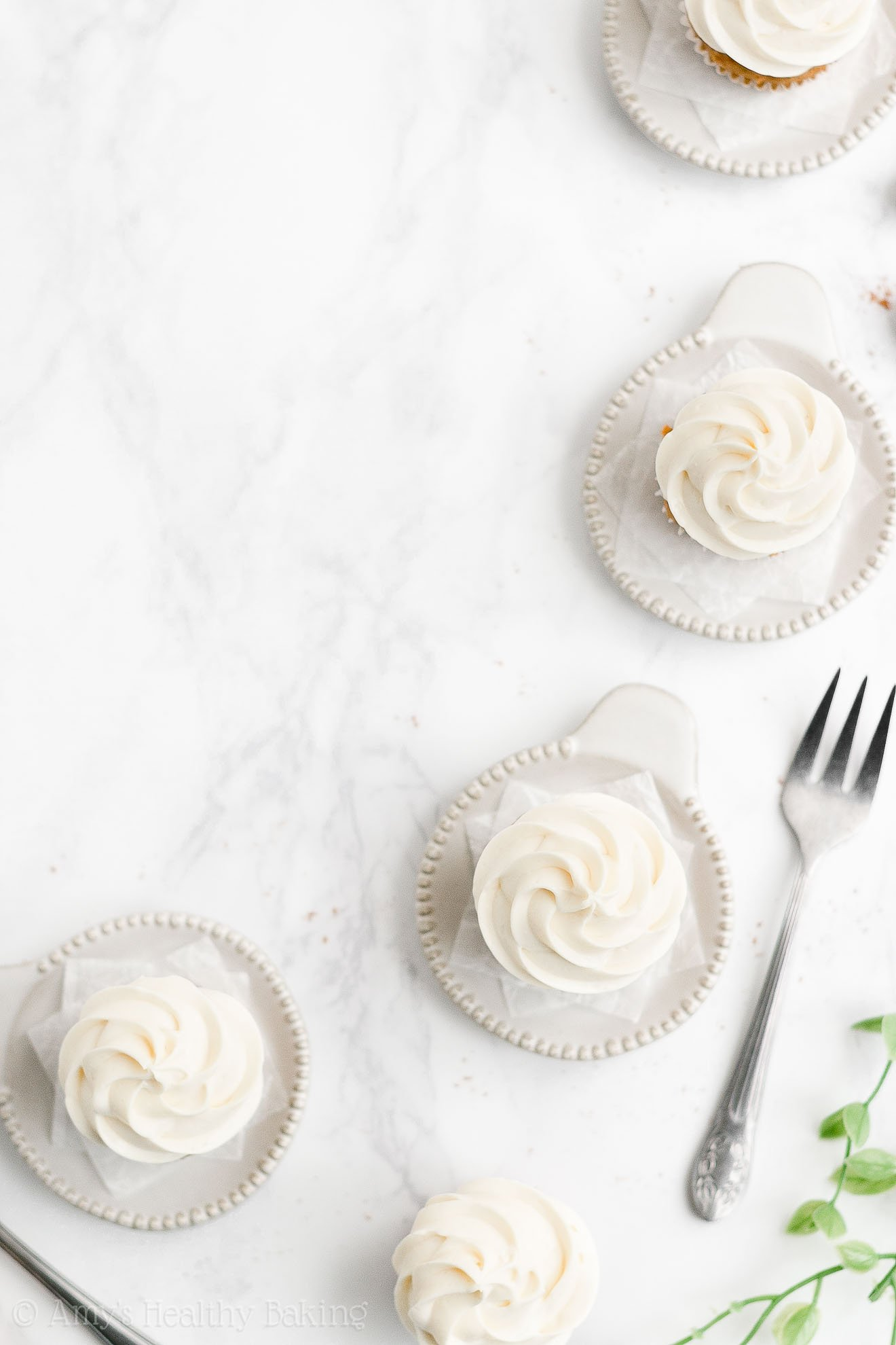 Best Easy Healthy Mini Carrot Cake Cupcakes with Sugar Free Cream Cheese Frosting