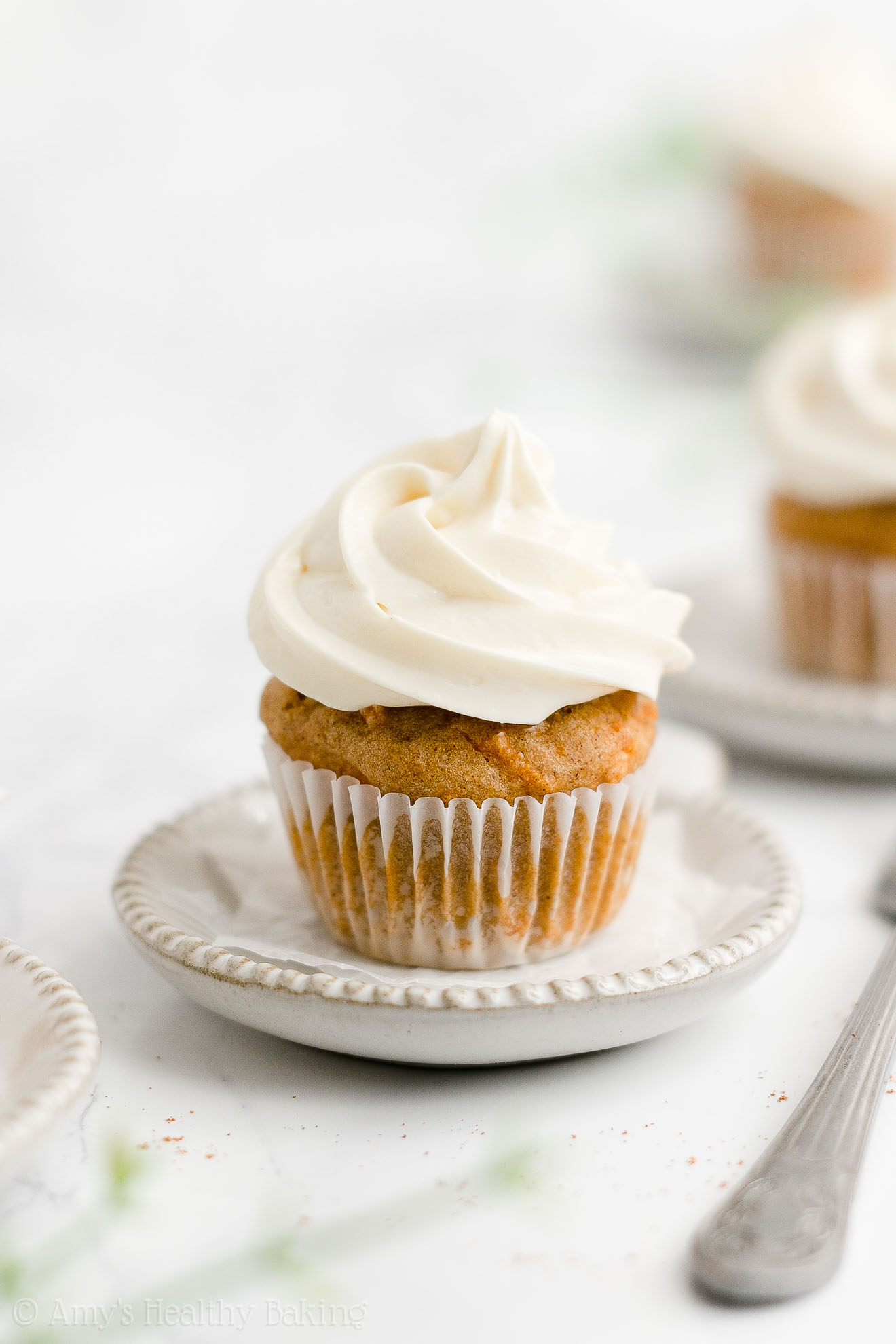 ULTIMATE Healthy Low Calorie No Sugar Gluten Free Mini Carrot Cake Cupcakes