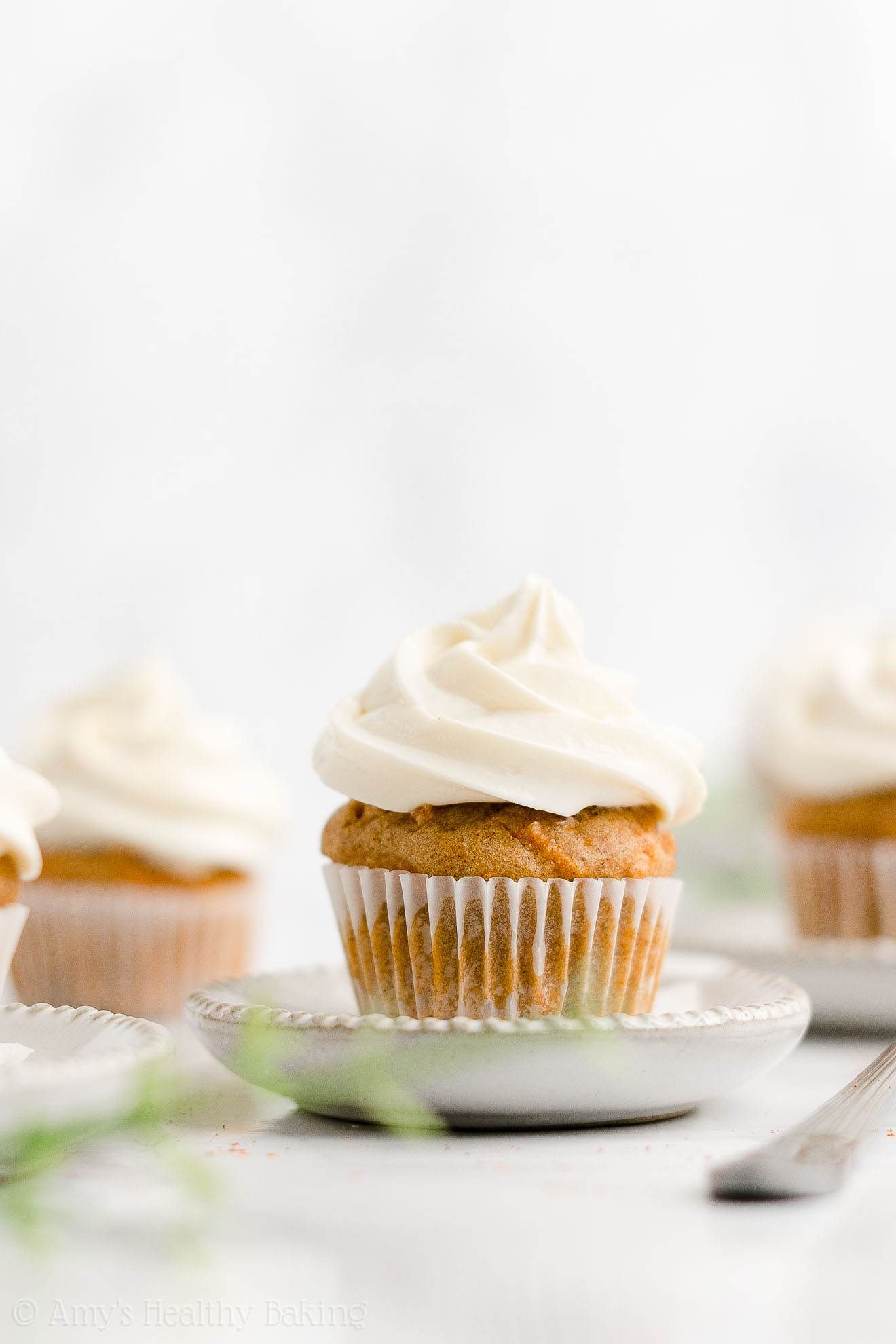 ULTIMATE Healthy Clean Eating No Sugar Low Calorie Mini Carrot Cake Cupcakes