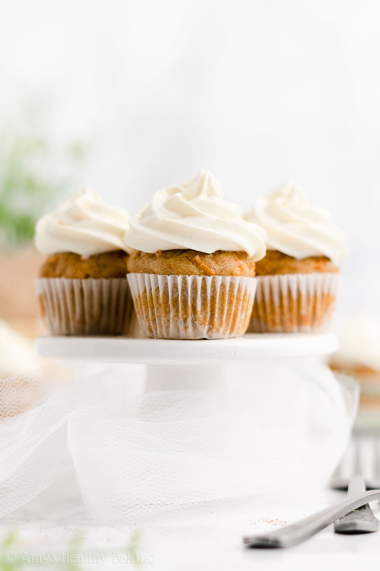 ULTIMATE Healthy Sugar Free Mini Carrot Cake Cupcakes No Raisins No Oil
