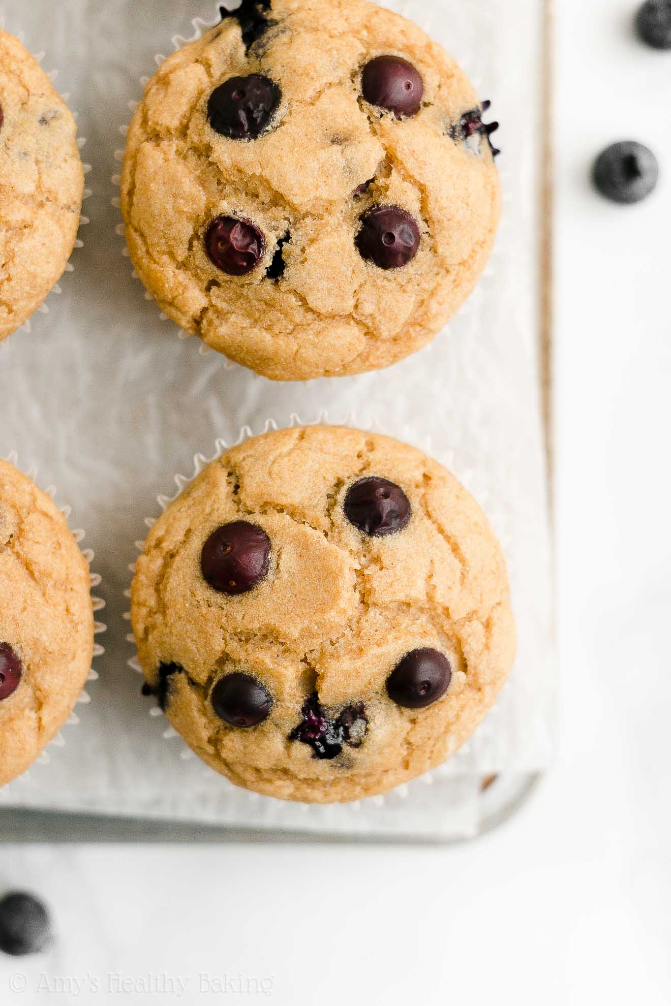 ULTIMATE Best Healthy Weight Watchers Sugar Free Low Fat Blueberry Muffins