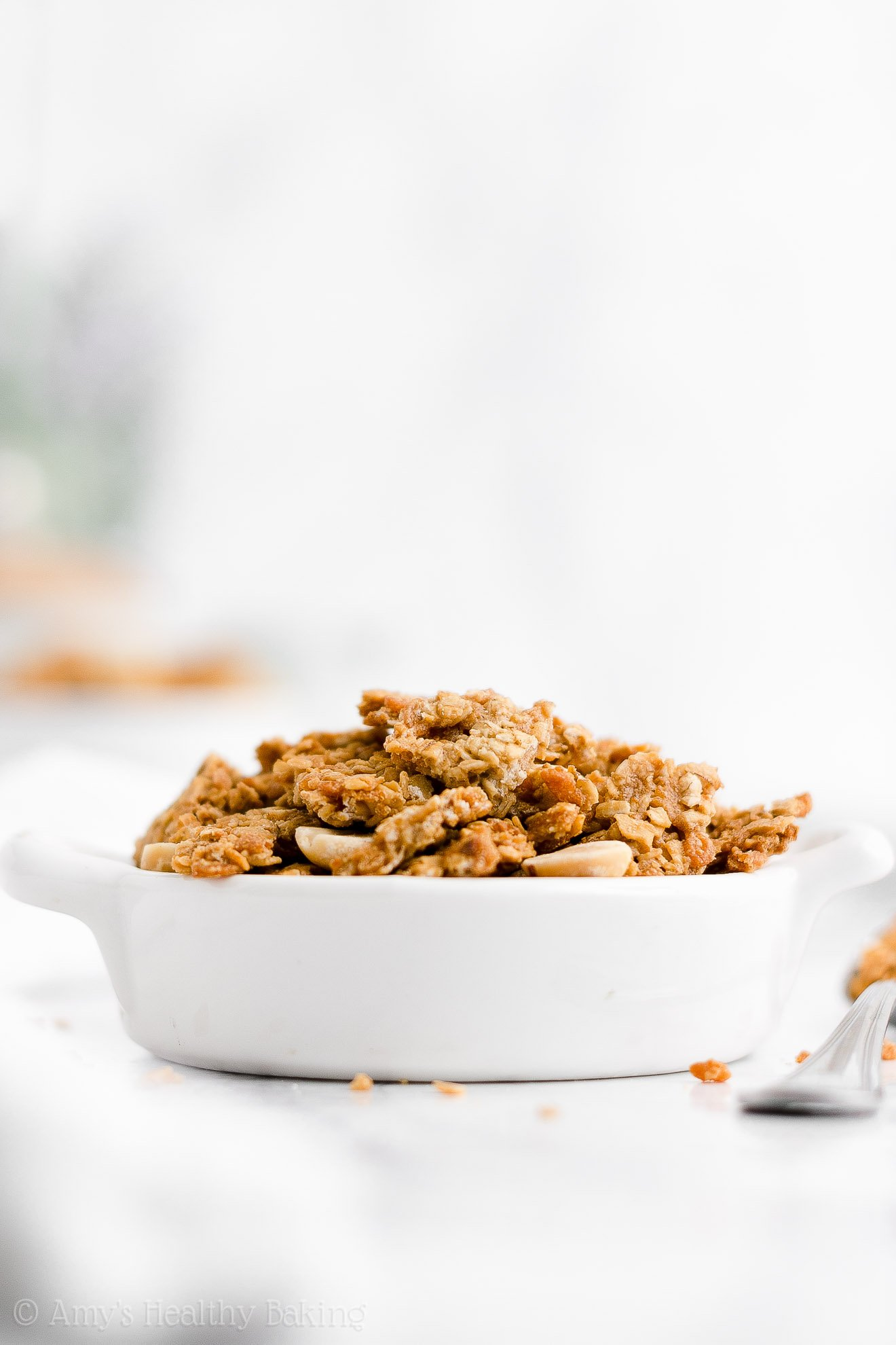 Ultimate Best Easy Healthy Homemade Gluten Free Peanut Butter Granola