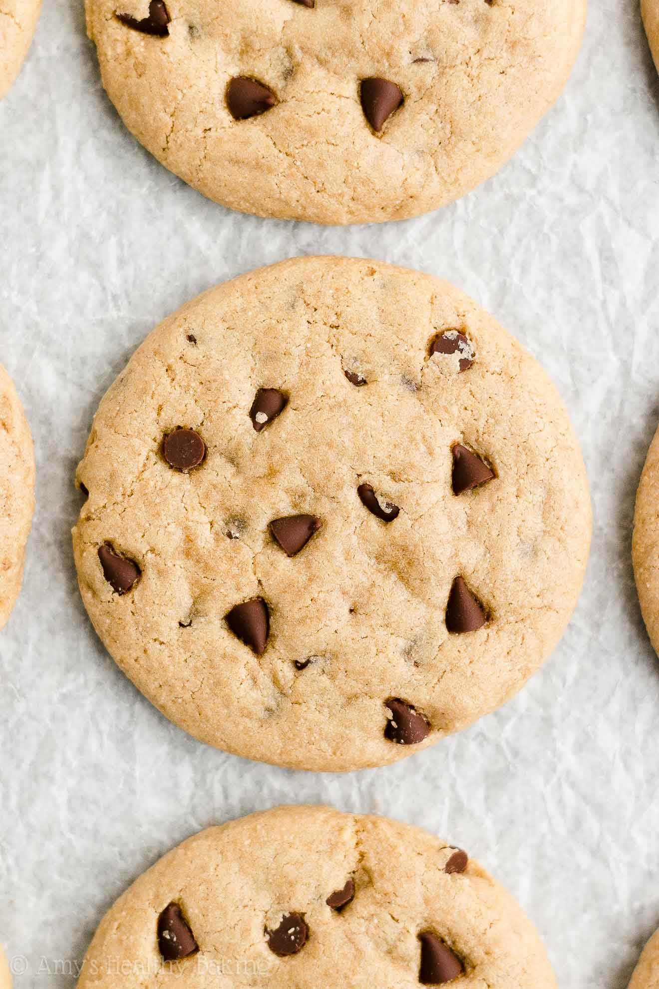 ULTIMATE Best Easy Healthy Vegan Chocolate Chip Peanut Butter Cookies