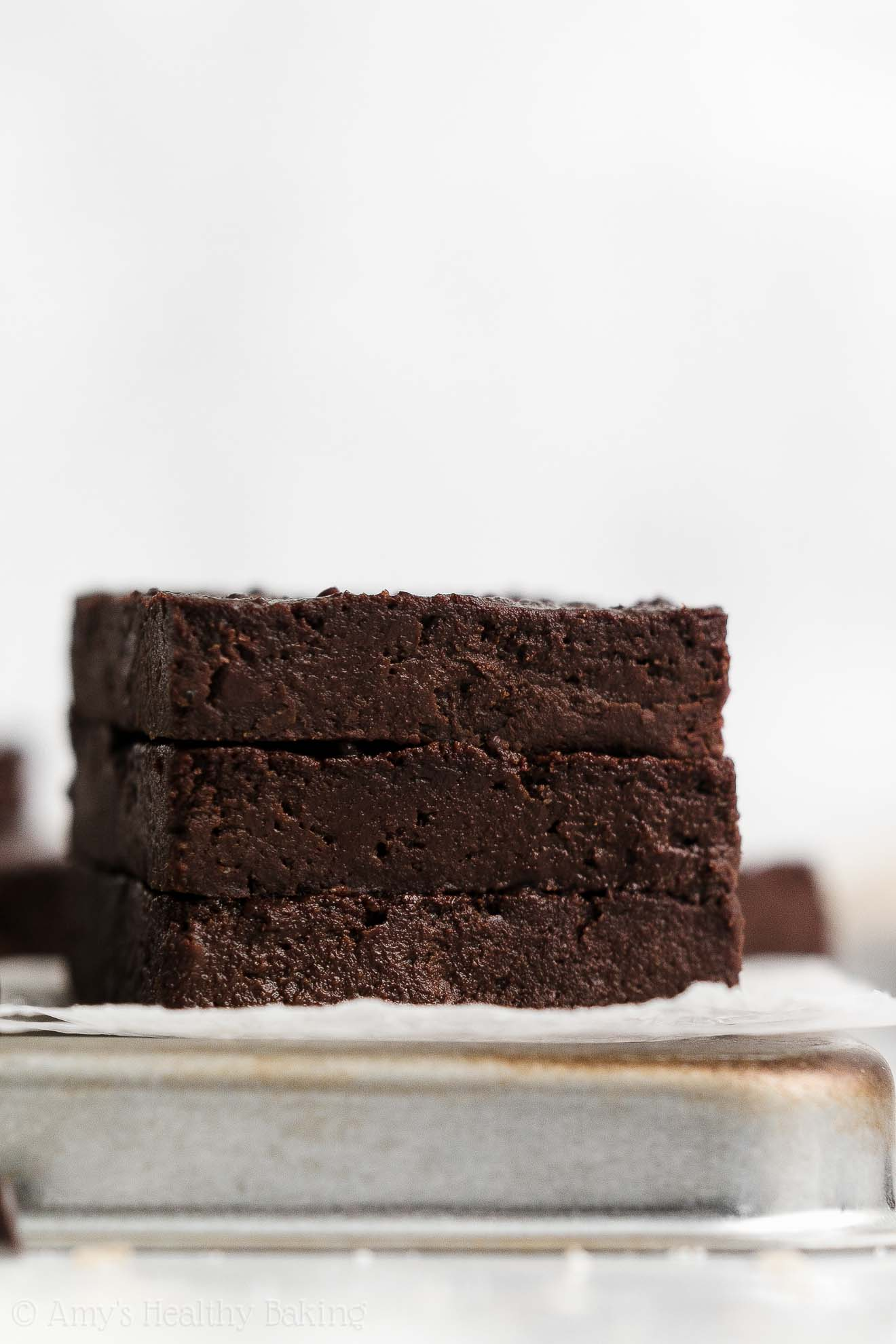 ULTIMATE Best Eas Healthy One-Bowl Fudgy Flourless Gluten Free Vegan Brownies
