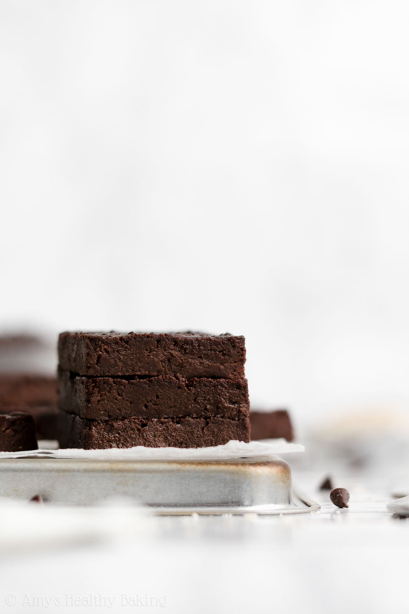 ULTIMATE Healthy Fudgy Flourless Gluten Free Dairy Free Brownies Without Eggs