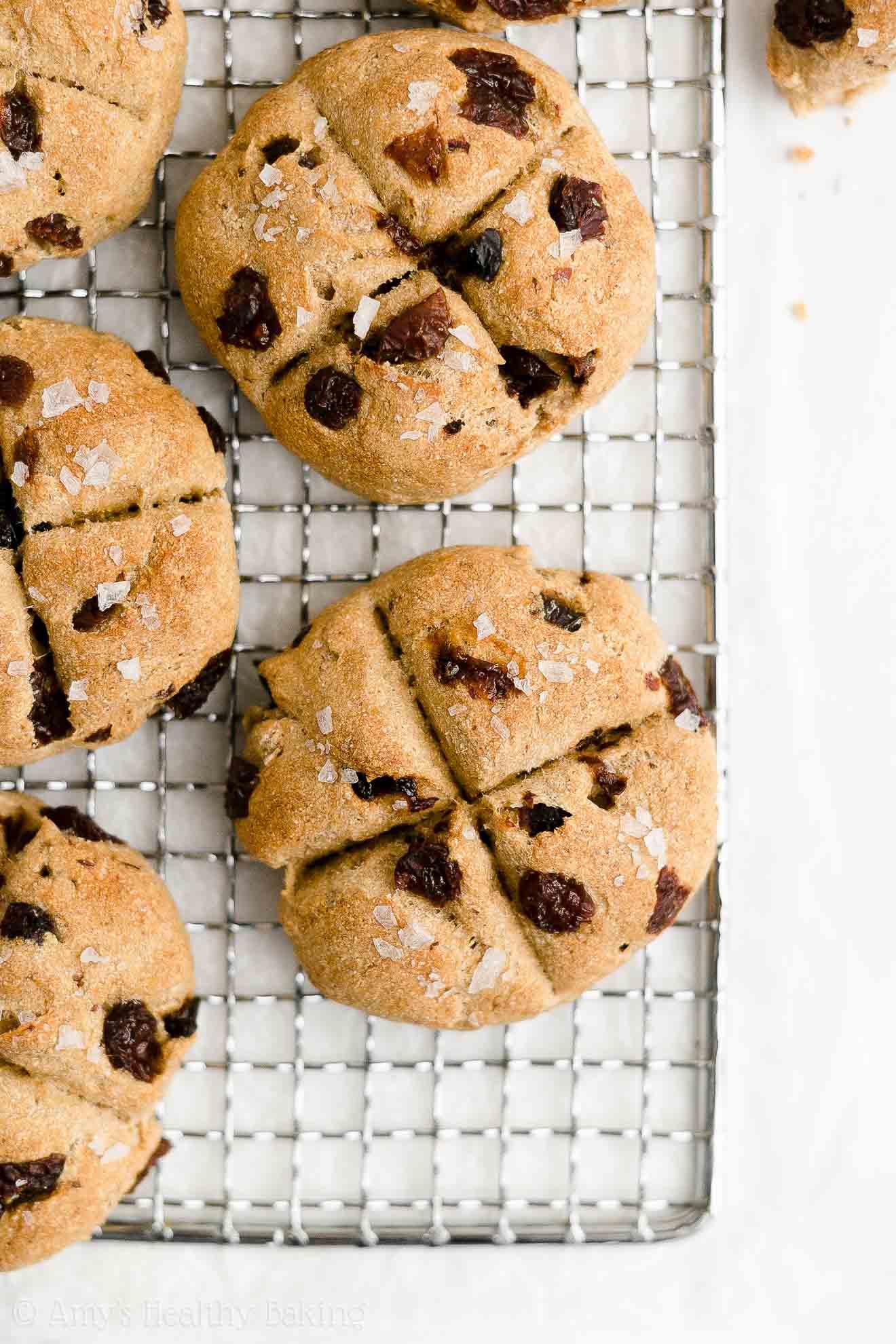 Easy Healthy Low Fat Sugar Free No Yeast Moist Raisin Irish Soda Bread Scones