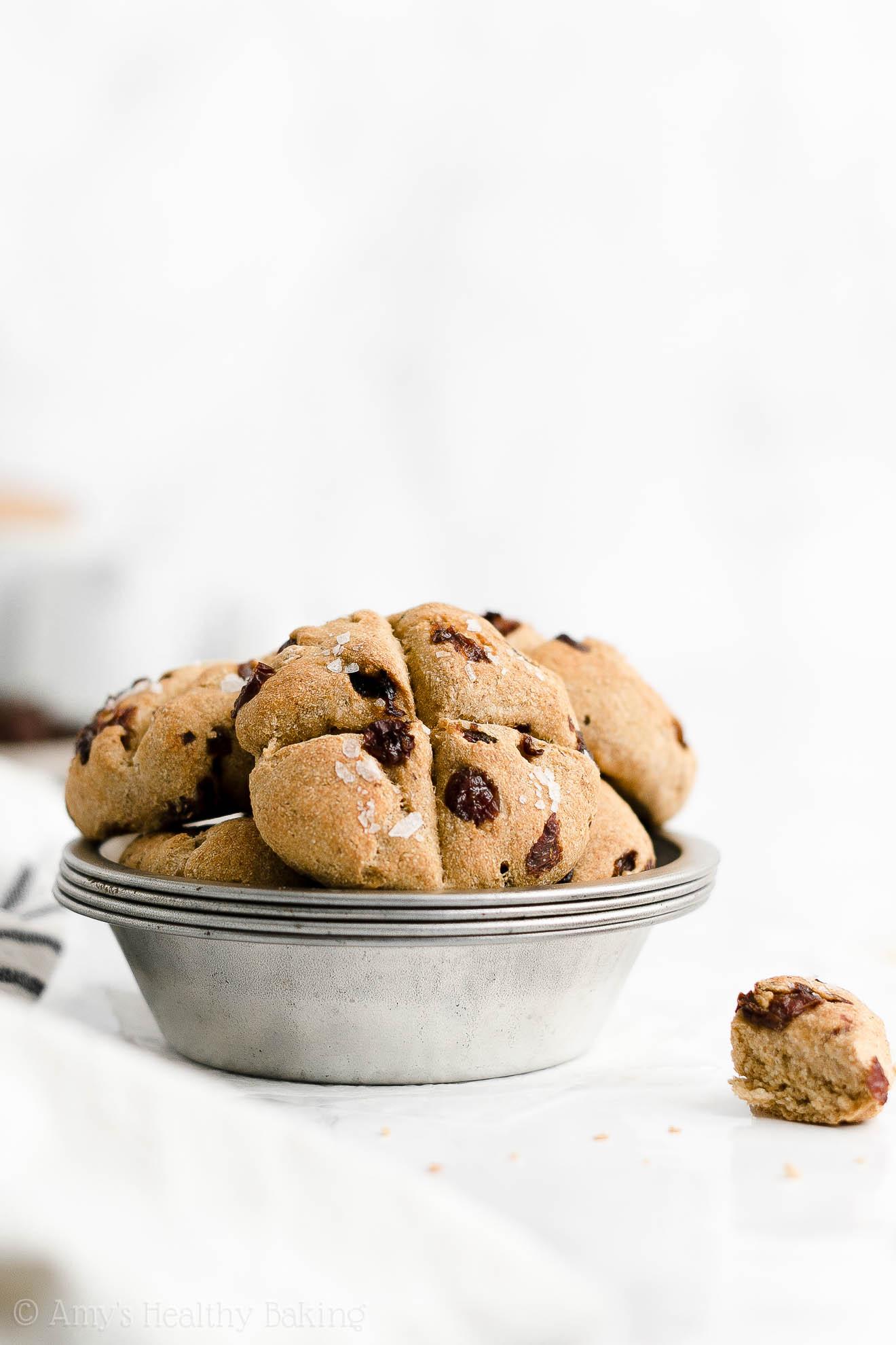 Quick Easy Healthy Clean Eating No Buttermilk Raisin Irish Soda Bread Scones