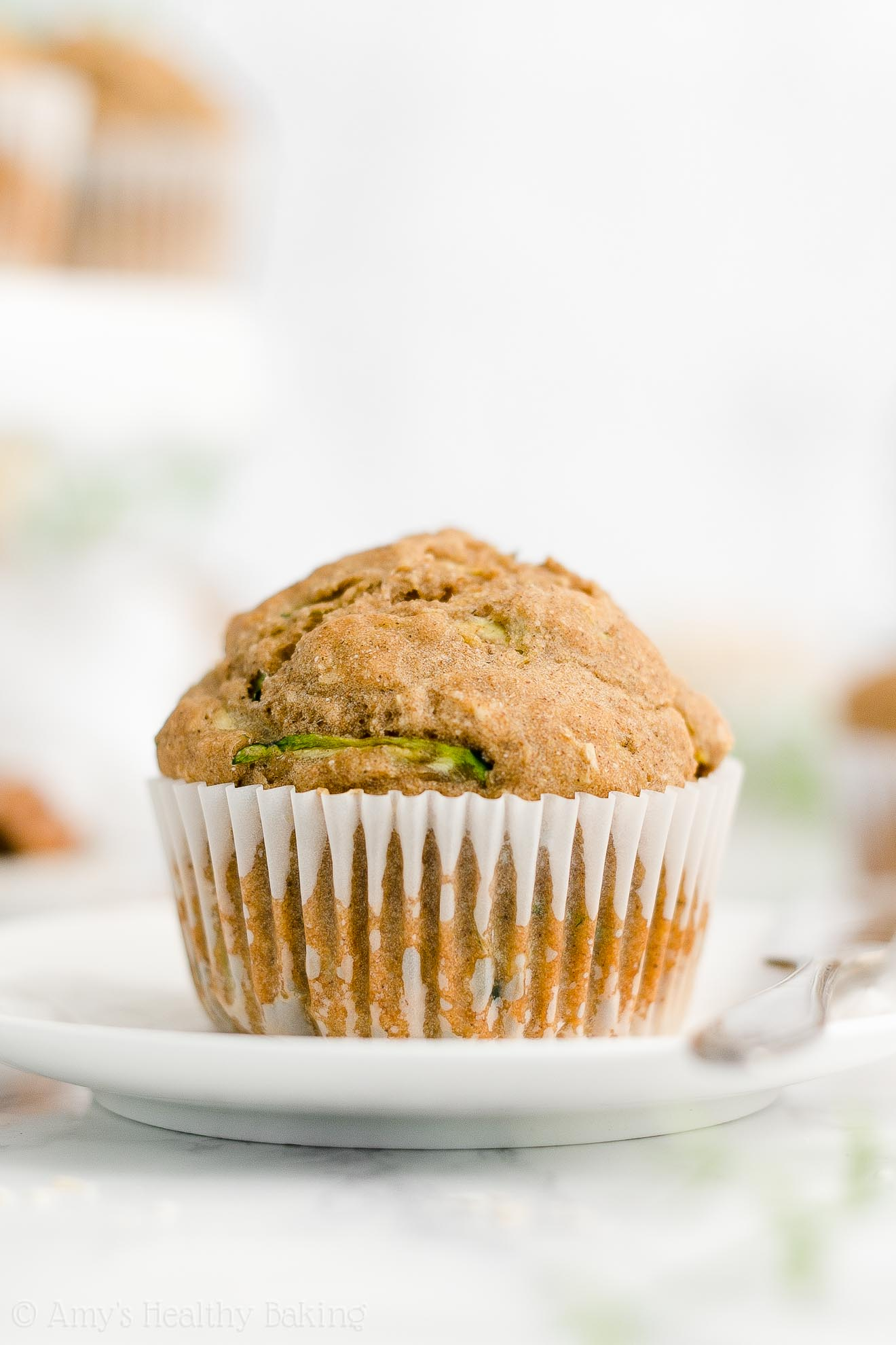 Best Easy Healthy Gluten Free No Sugar Greek Yogurt Zucchini Oatmeal Muffins