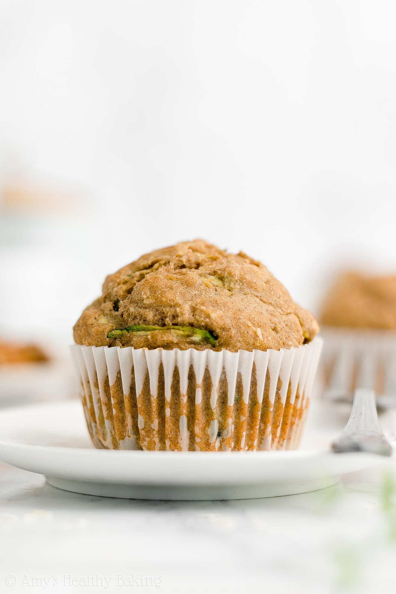 Best Easy Healthy Whole Wheat Moist Greek Yogurt Zucchini Oatmeal Muffins