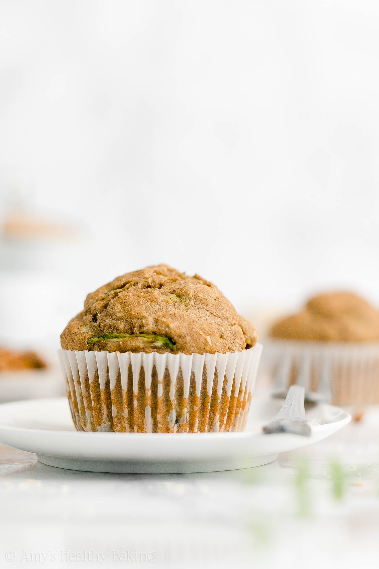 Best Easy Healthy Whole Wheat No Sugar Greek Yogurt Zucchini Oatmeal Muffins