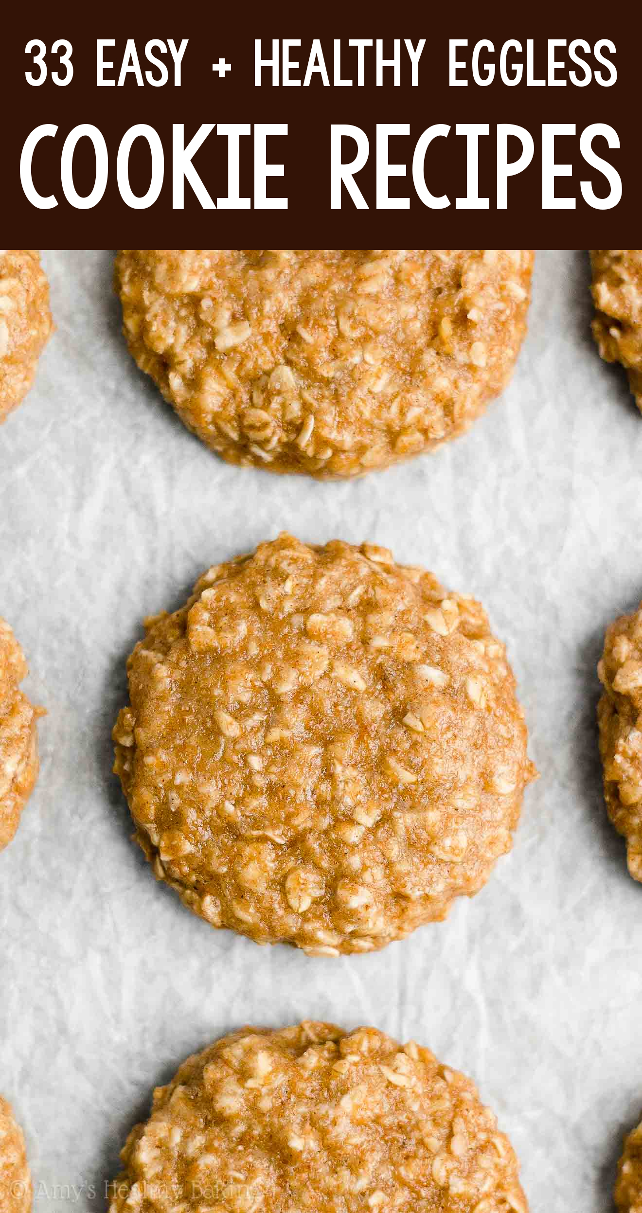 the BEST EVER healthy dairy-free eggless vegan peanut butter banana oatmeal breakfast cookies