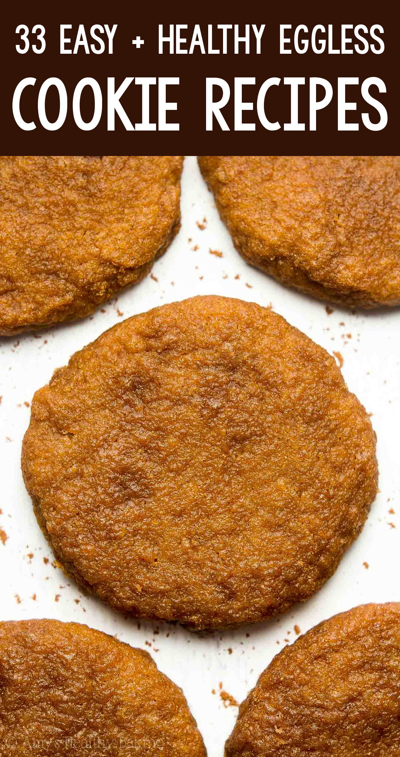 the BEST EVER healthy dairy-free eggless vegan pumpkin pie snickerdoodle cookies