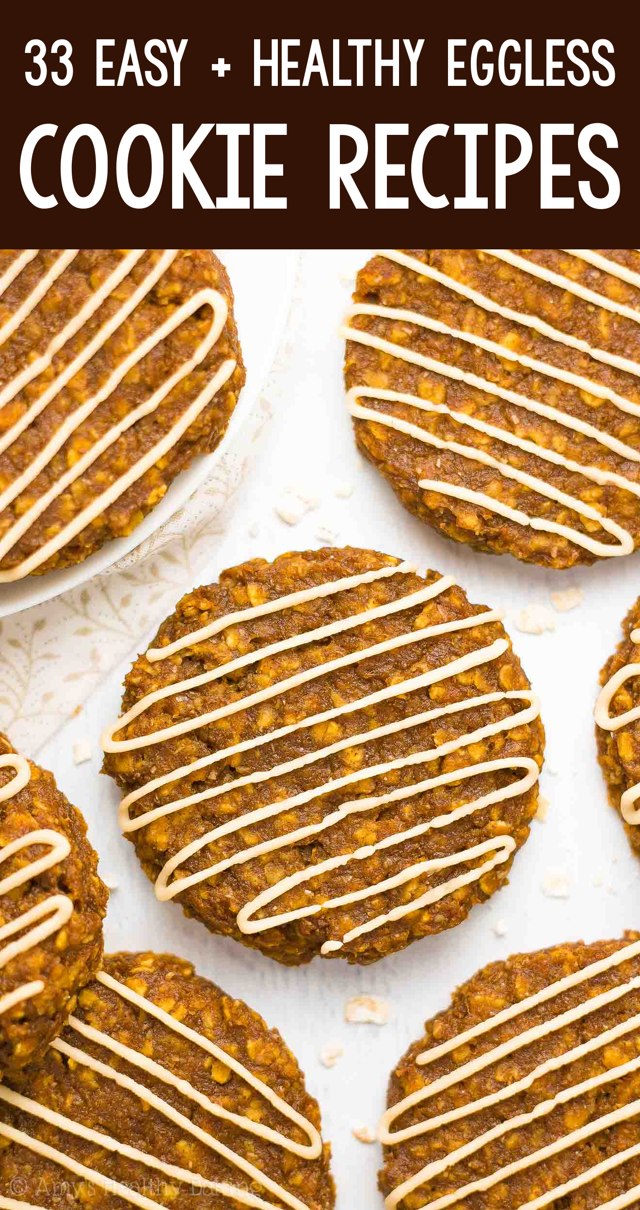 the BEST EVER healthy dairy-free eggless vegan pumpkin spice latte oatmeal cookies