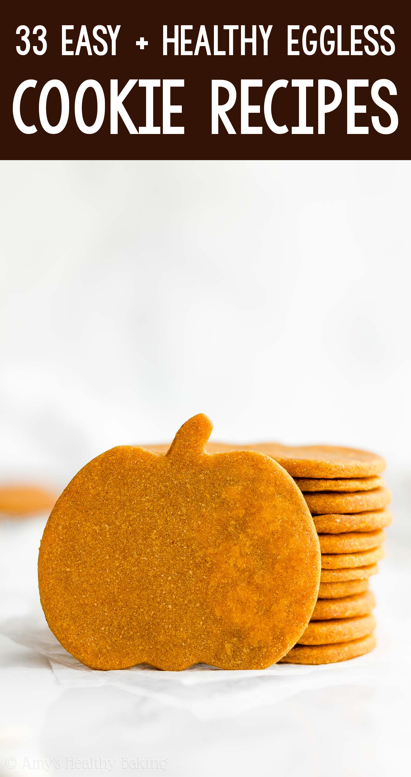 the BEST EVER healthy dairy-free eggless vegan soft cut-out pumpkin sugar cookies