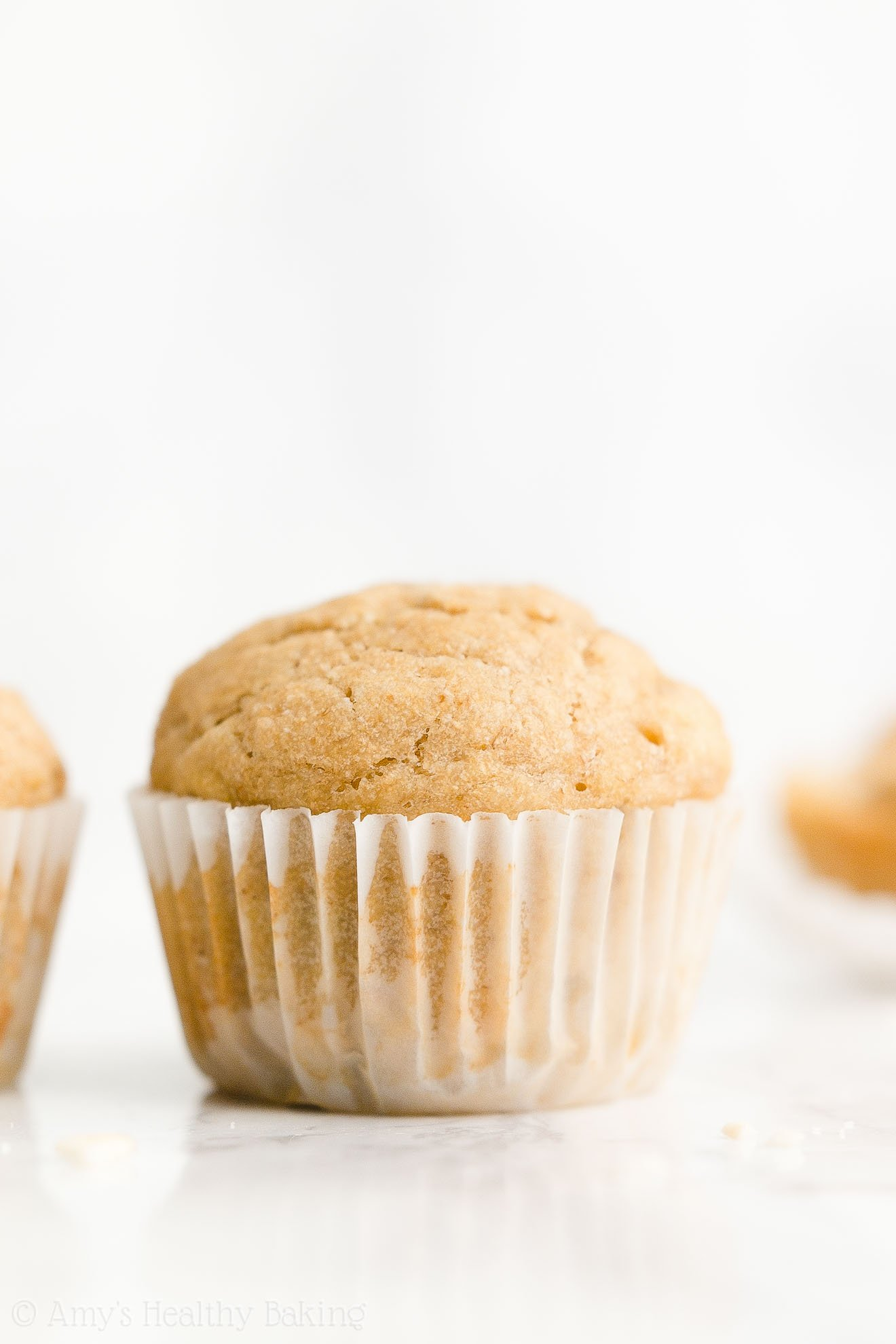 Best Easy Healthy Whole Wheat Vegan Sugar Free Moist Banana Muffins No Eggs