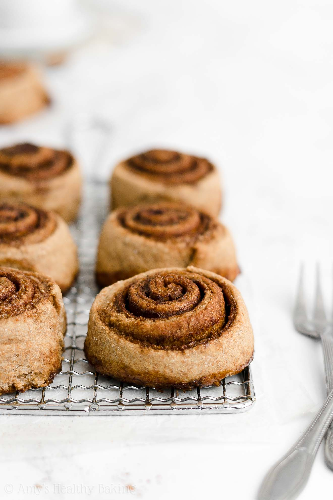ULTIMATE Best Ever Healthy Fluffy Low Calorie Weight Watchers Cinnamon Rolls