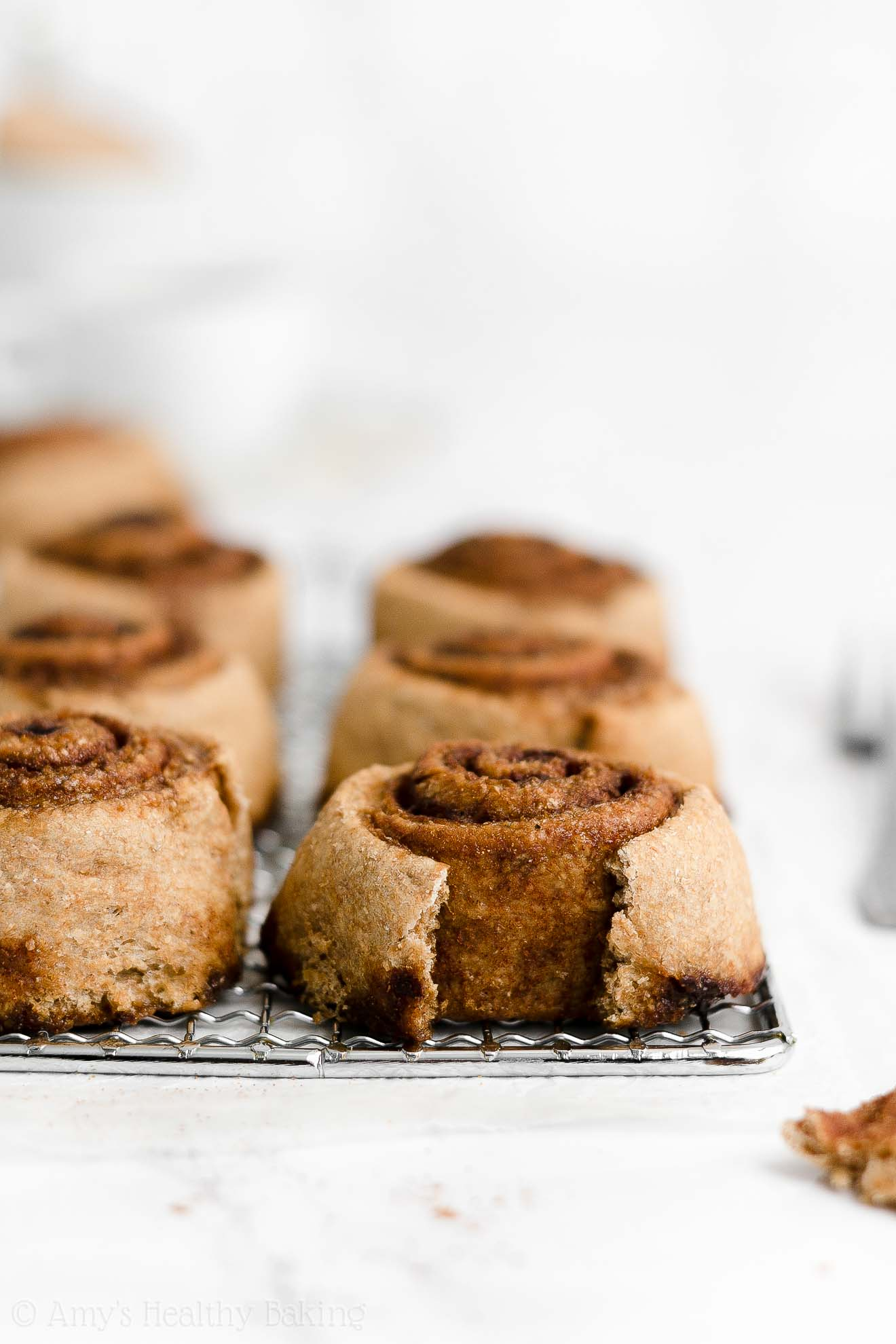 ULTIMATE Best Ever Healthy Homemade Classic Cinnamon Rolls From Scratch