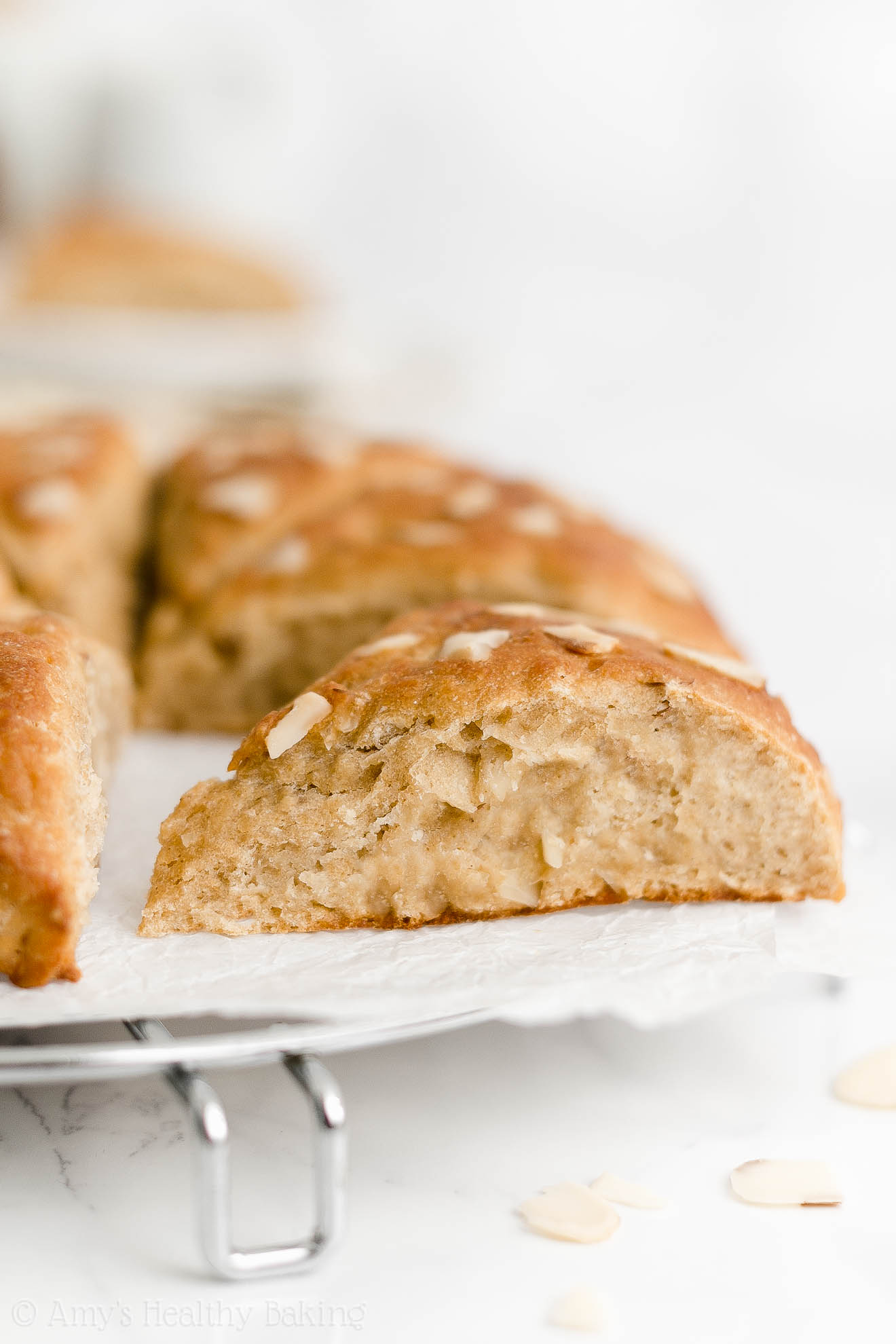 Best Easy Healthy Whole Wheat Eggless Greek Yogurt Moist Almond Scones