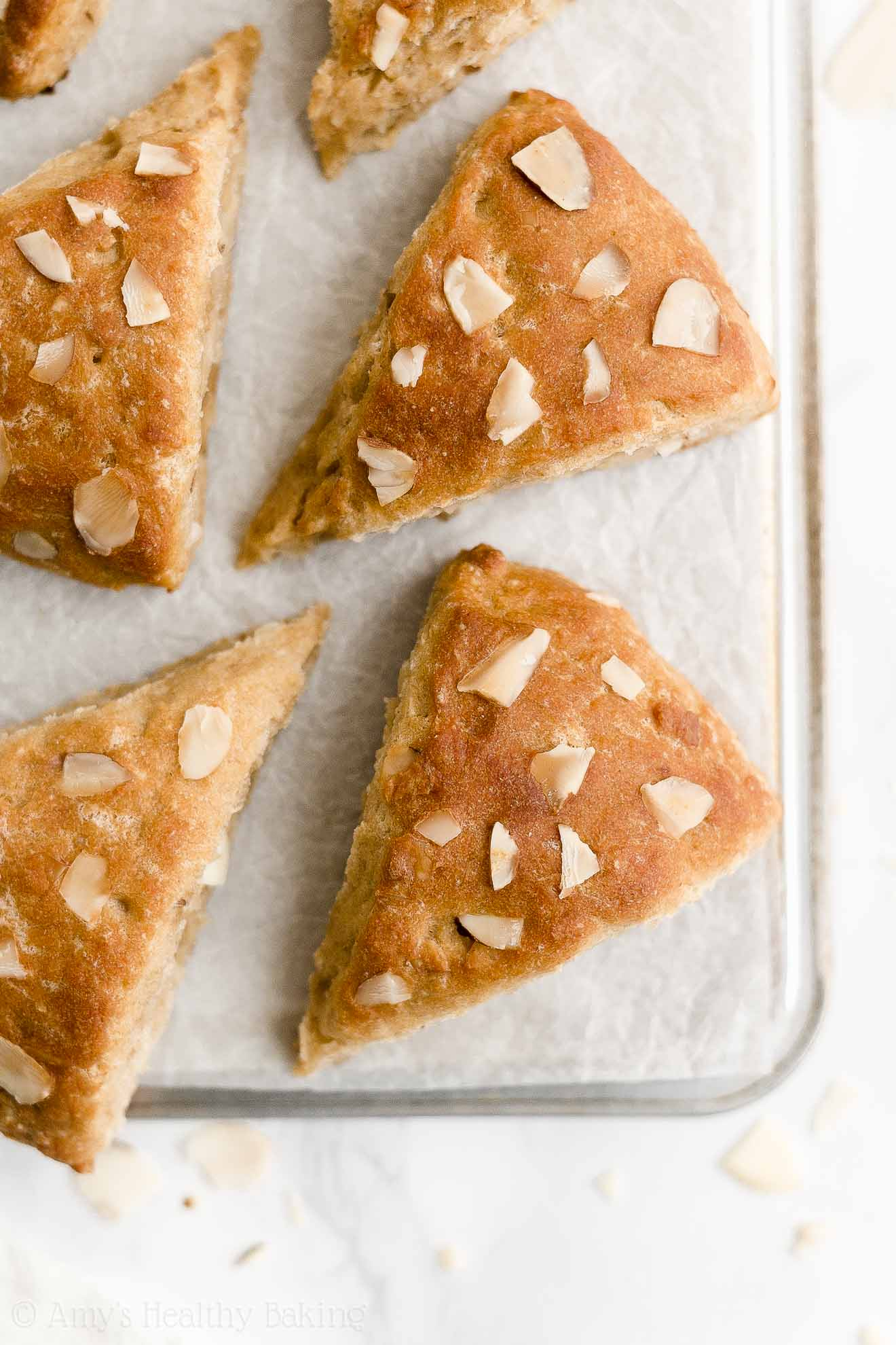Best Easy Healthy Clean Eating Weight Watchers Greek Yogurt Almond Scones