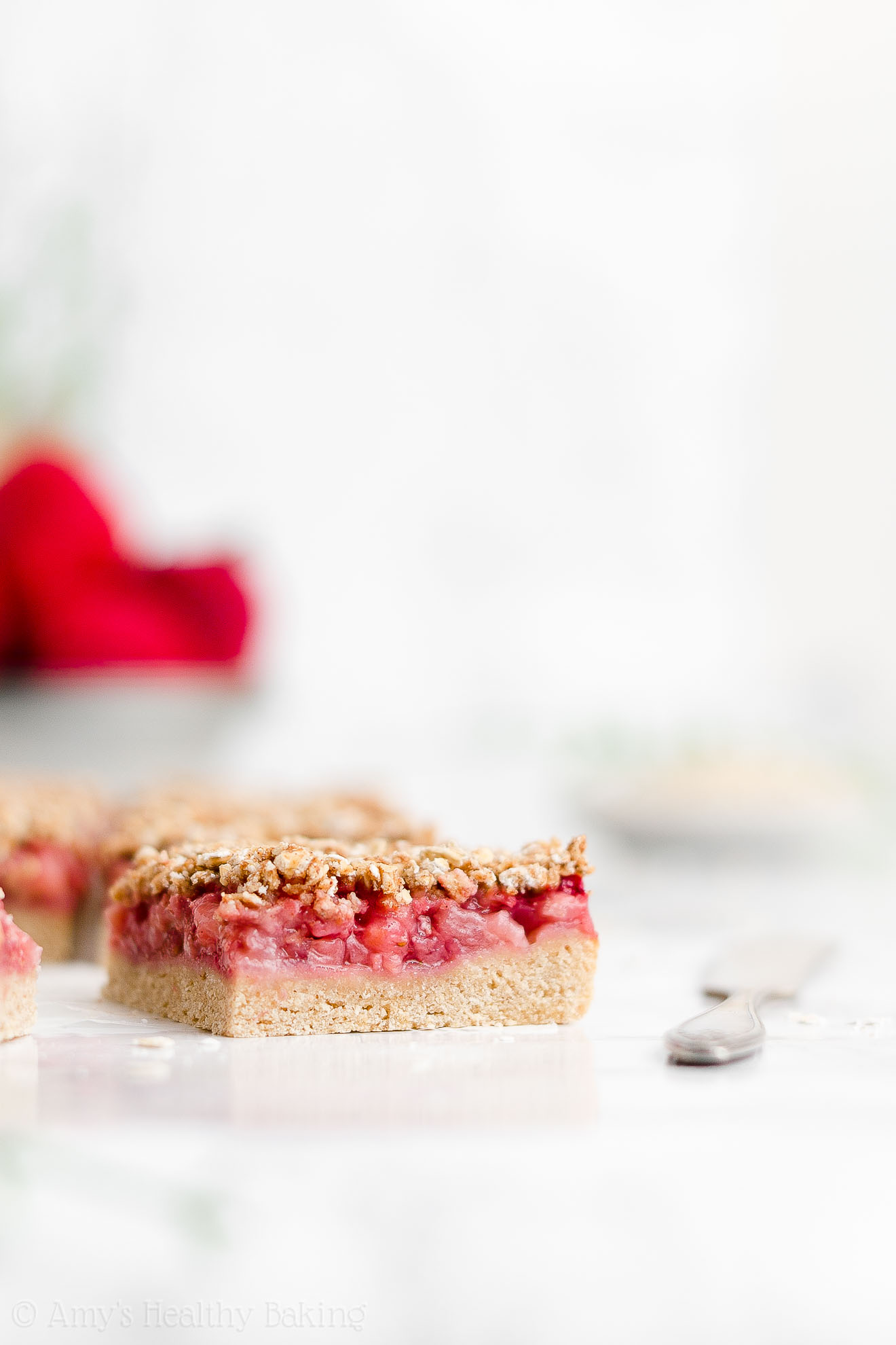 Best Healthy Whole Wheat Dairy Free Eggless Strawberry Oatmeal Crumble Bars