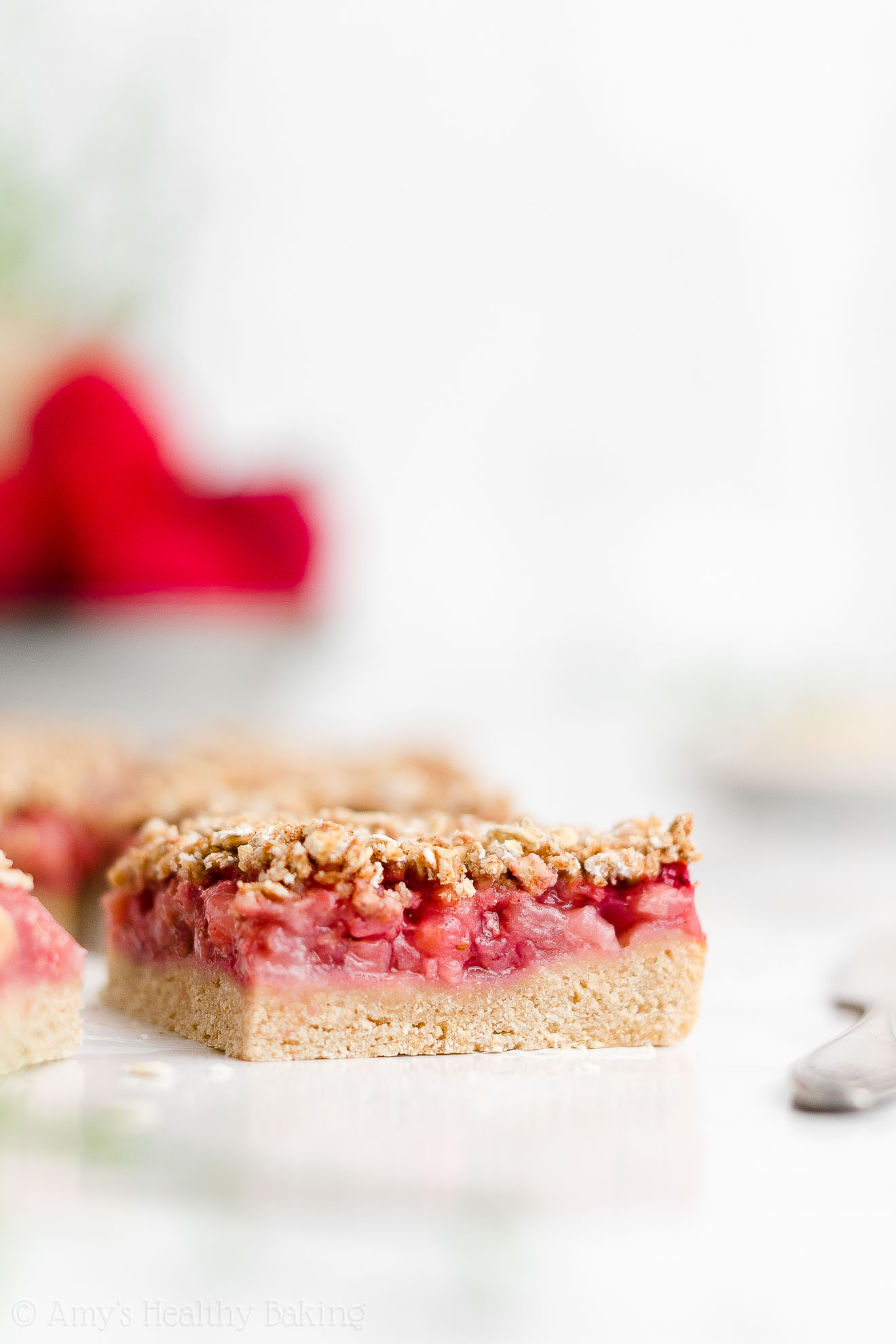 Best Easy Healthy Gluten Free Dairy Free Vegan Strawberry Oat Crumble Bars