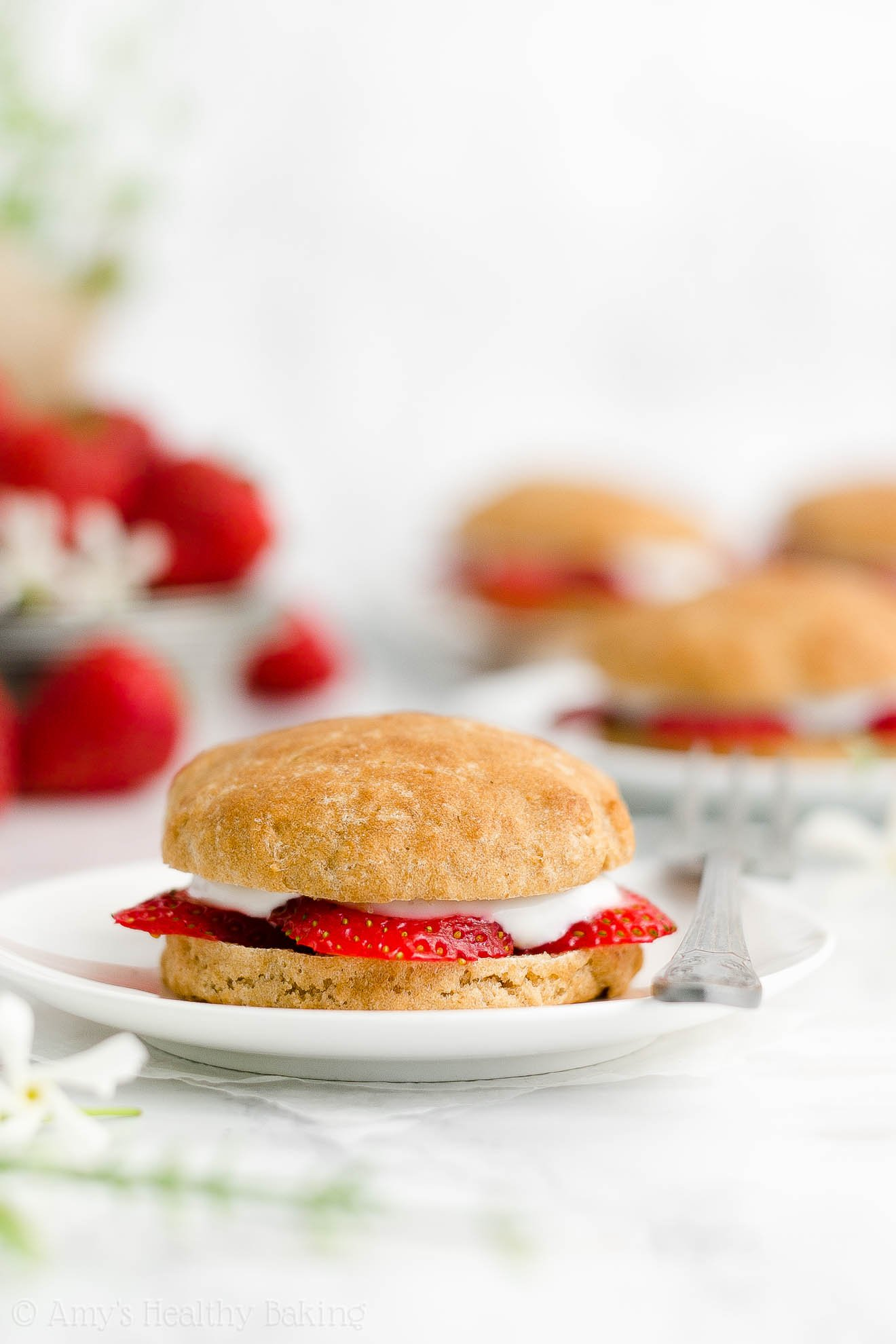 ULTIMATE Best Ever Easy Healthy Gluten Free Vegan Strawberry Shortcakes